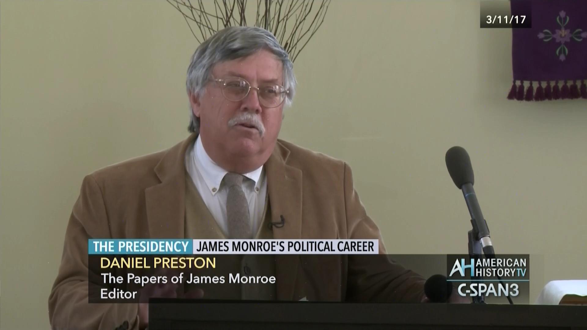 james monroe political career