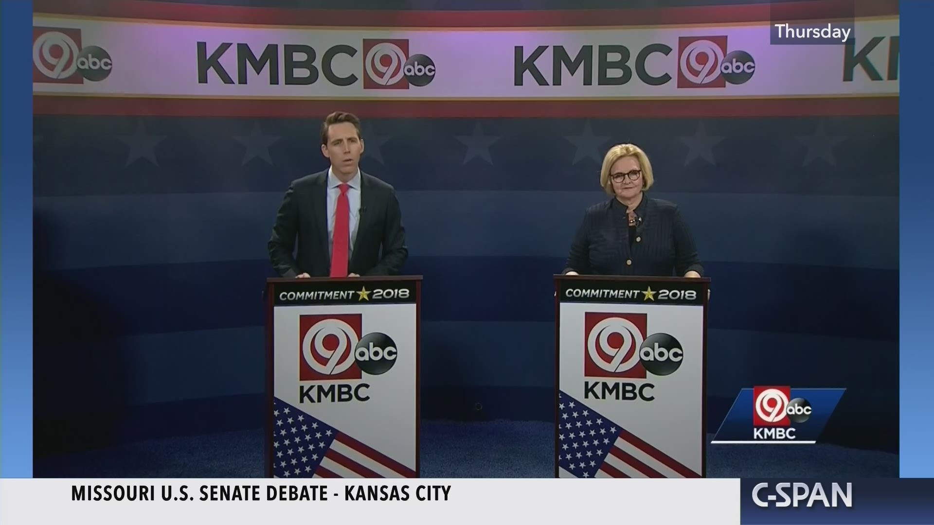 Missouri Senate Debate Oct 25 2018 Video Judges 2010 General Election November 2nd
