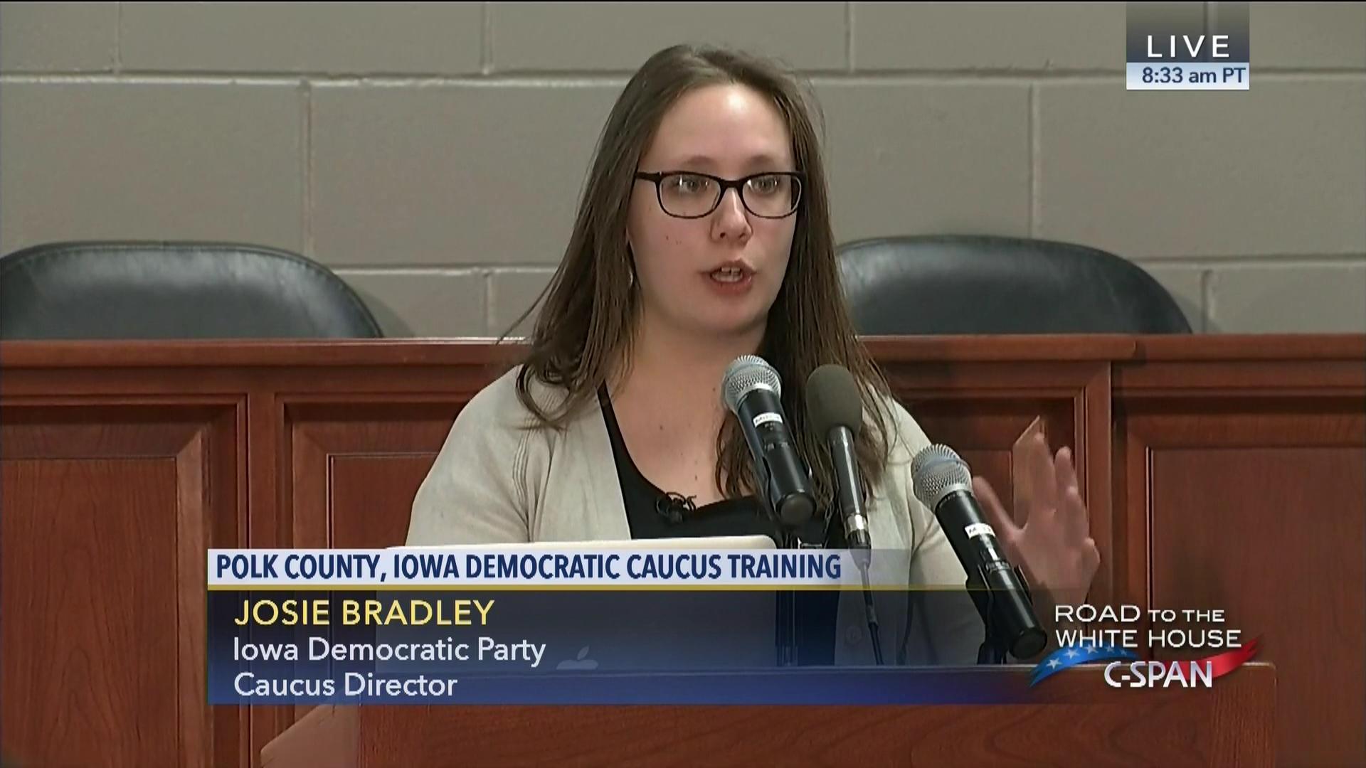 Polk County Iowa Democratic Caucus Training, Jan 30 2016   Video    C-SPAN.org