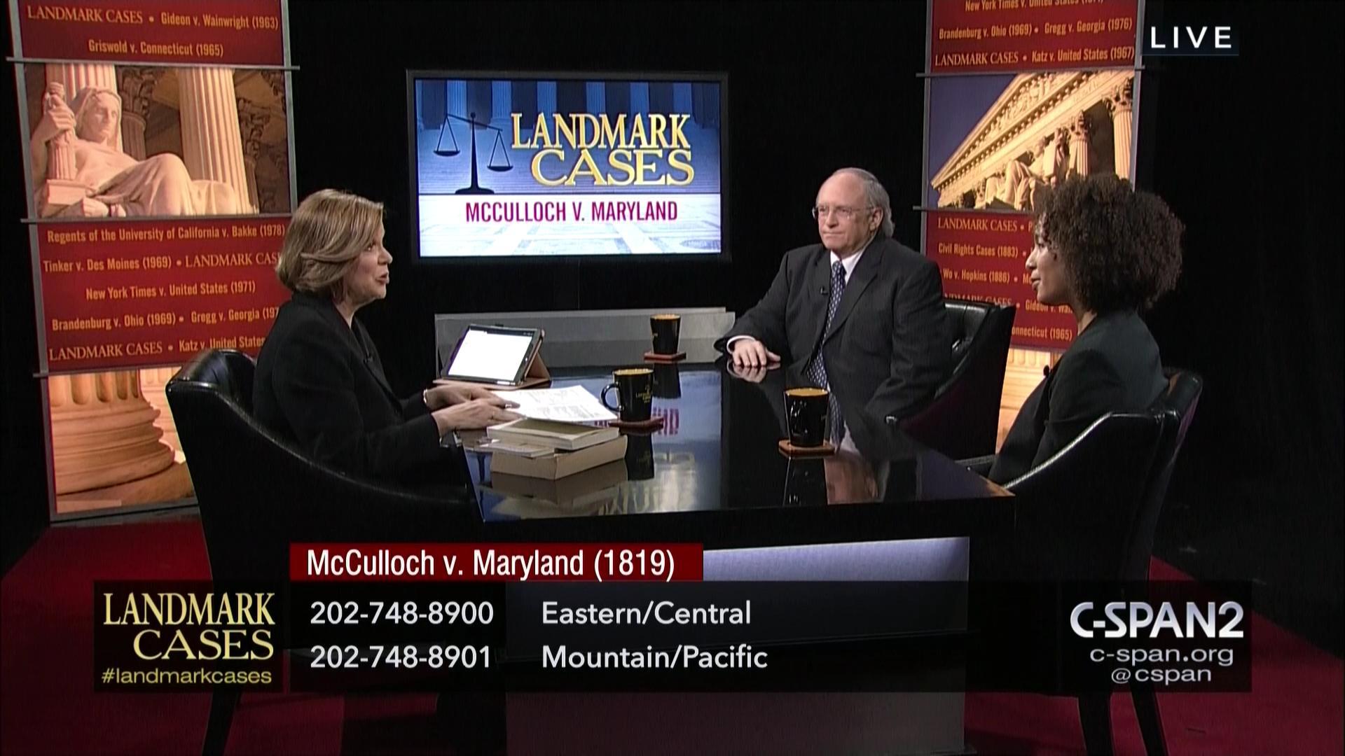Supreme Court Landmark Case McCulloch Maryland, Feb 26 2018 | Video |  C-SPAN.org