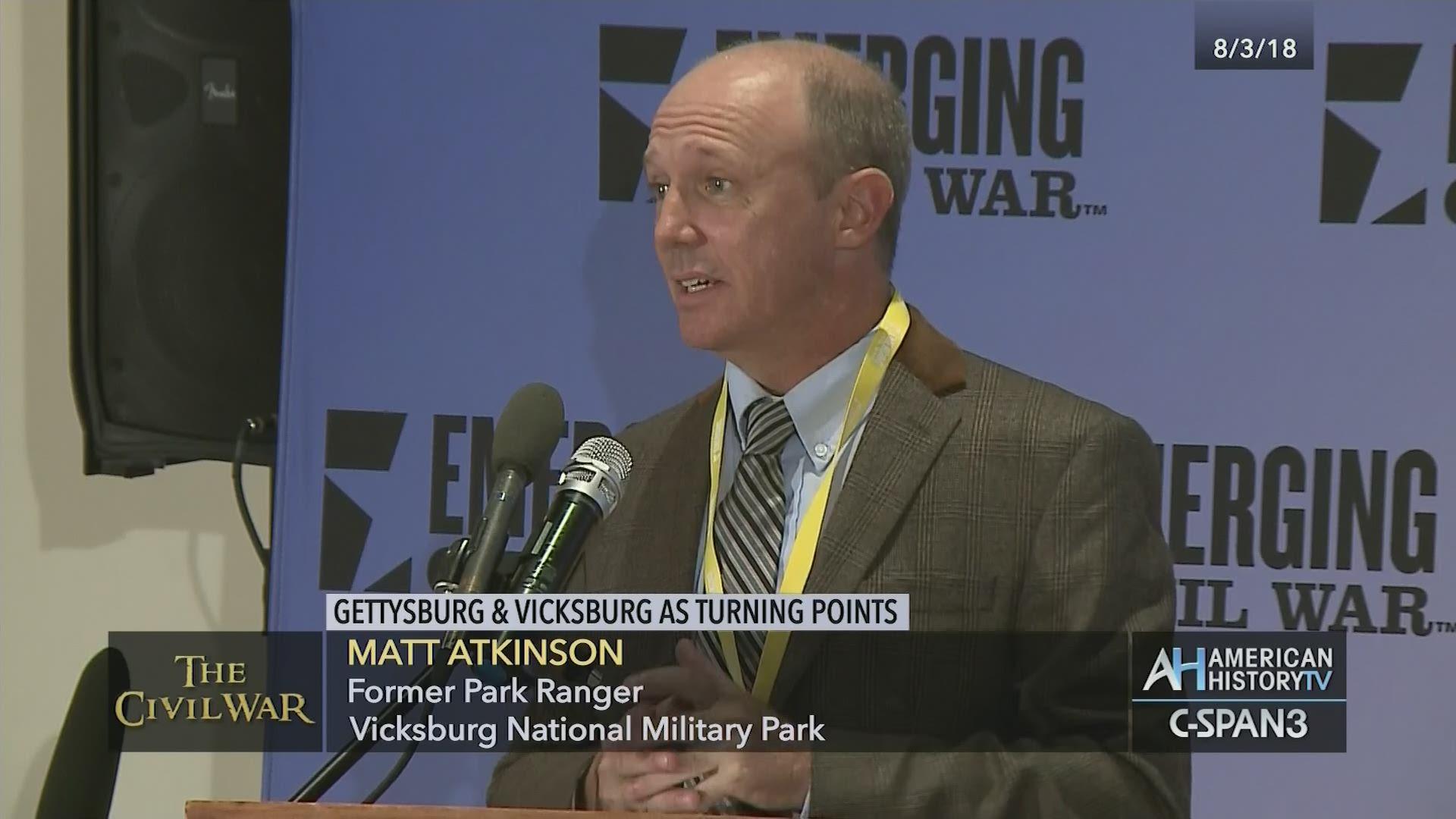Gettysburg Vicksburg Turning Points Aug 3 2018 Video C Span
