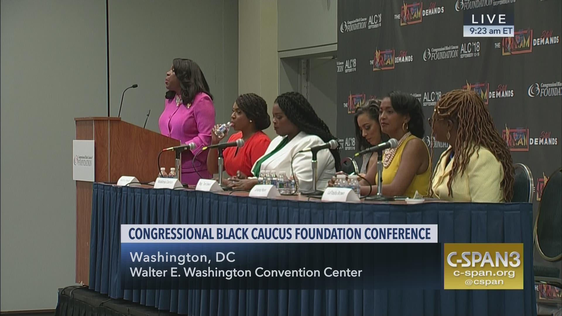 Congressional Black Caucus Holds Legislative Conference Women Voters ... c147609fff