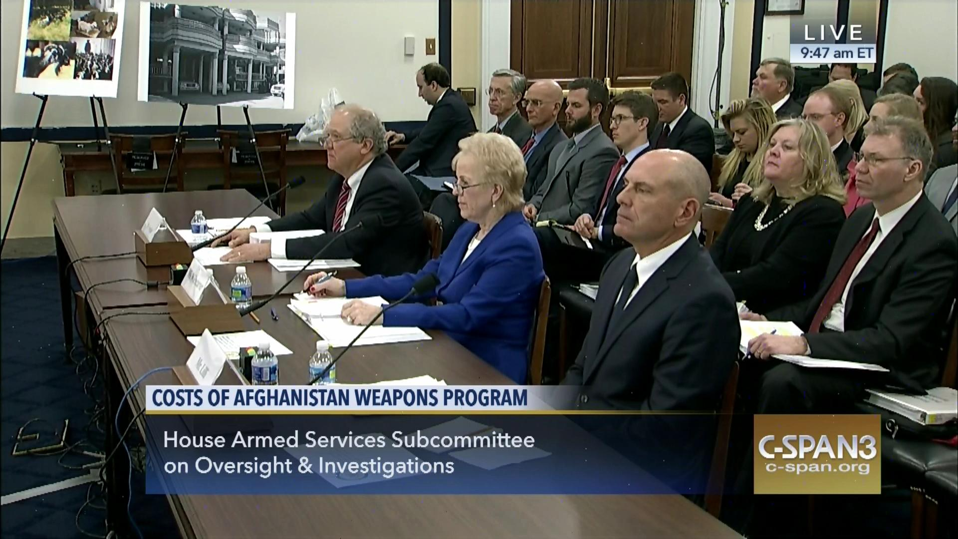 hearing afghan security forces, feb 12 2016 | video | c-span