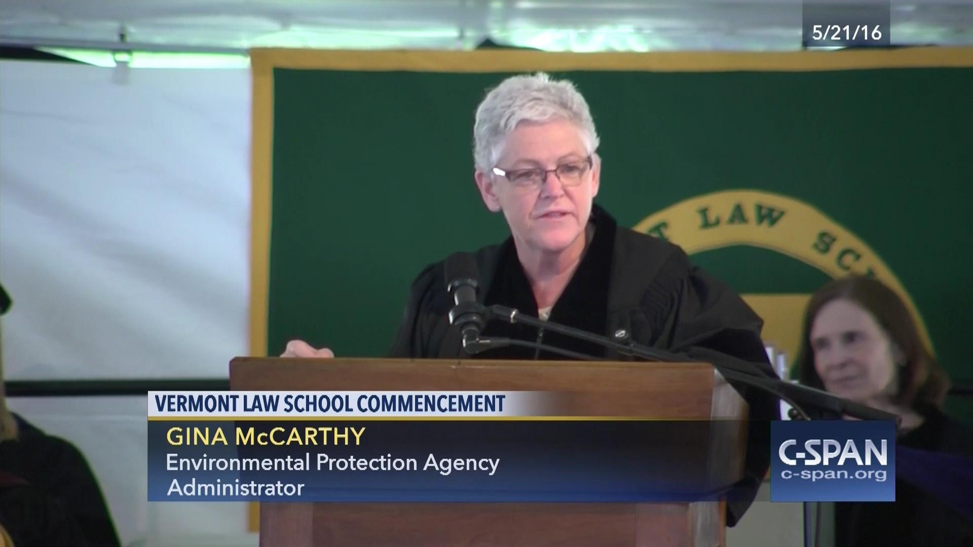 Vermont Law School Commencement Address