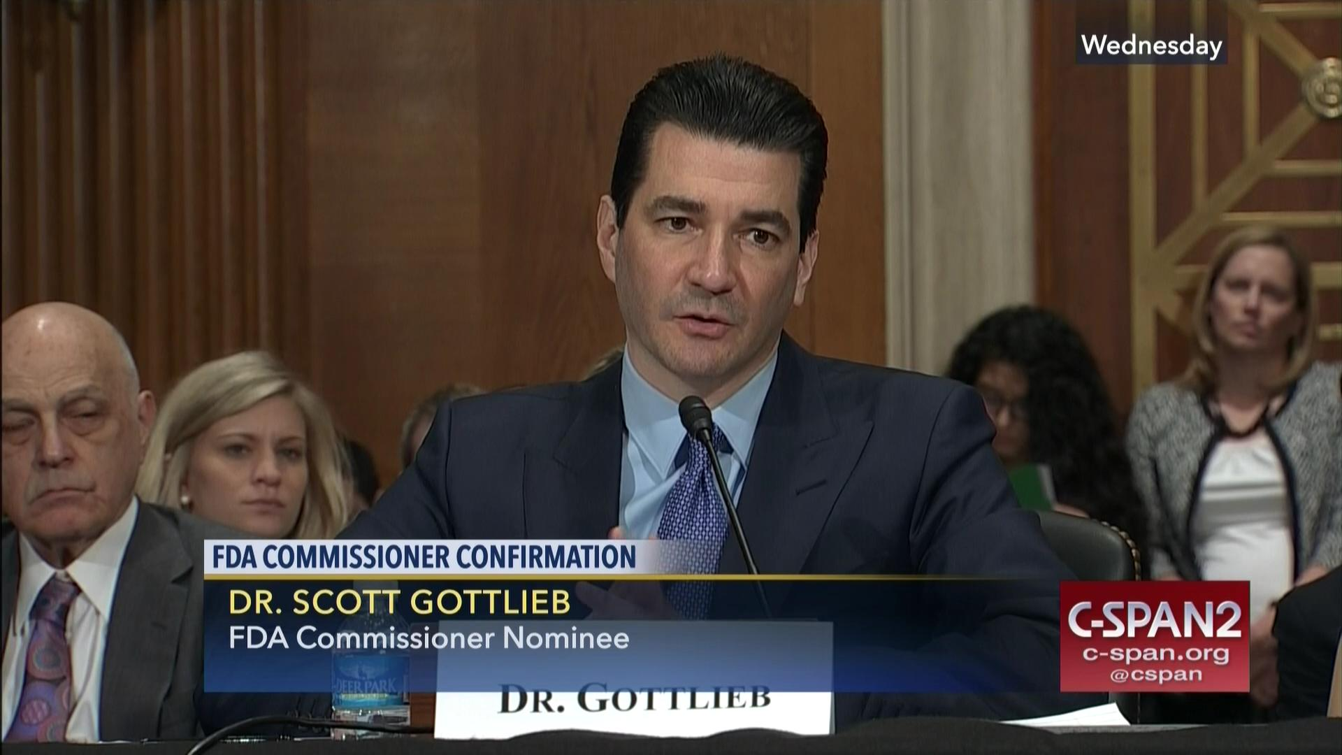 fda commissioner nominee scott gottlieb defends accusations conflicts interest