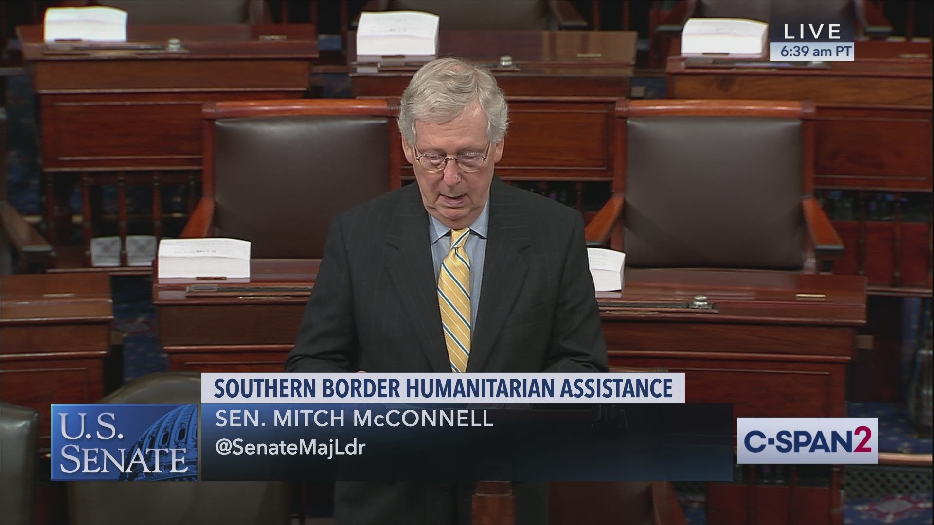 McConnell Border Aid