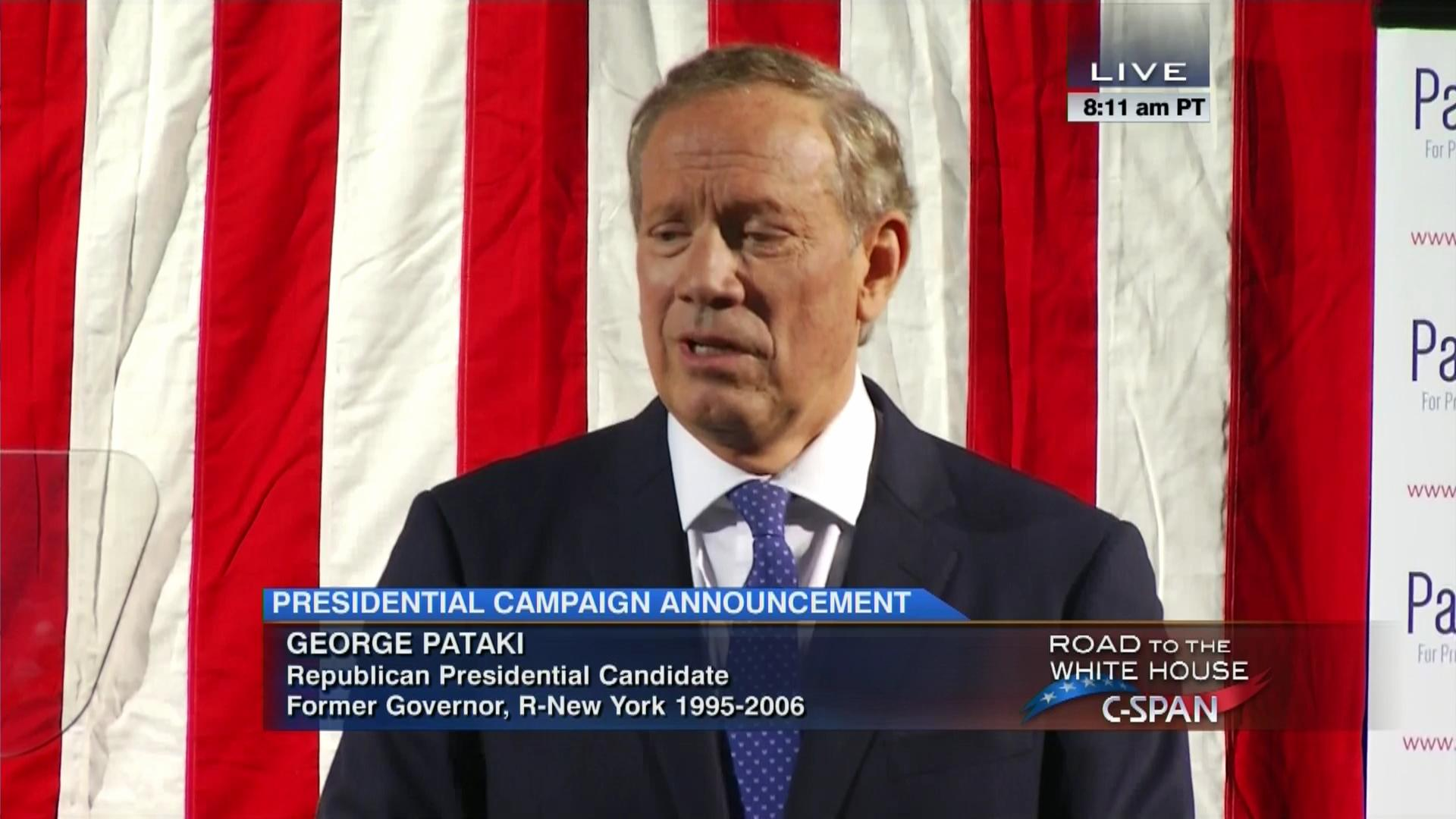 George Pataki 2015