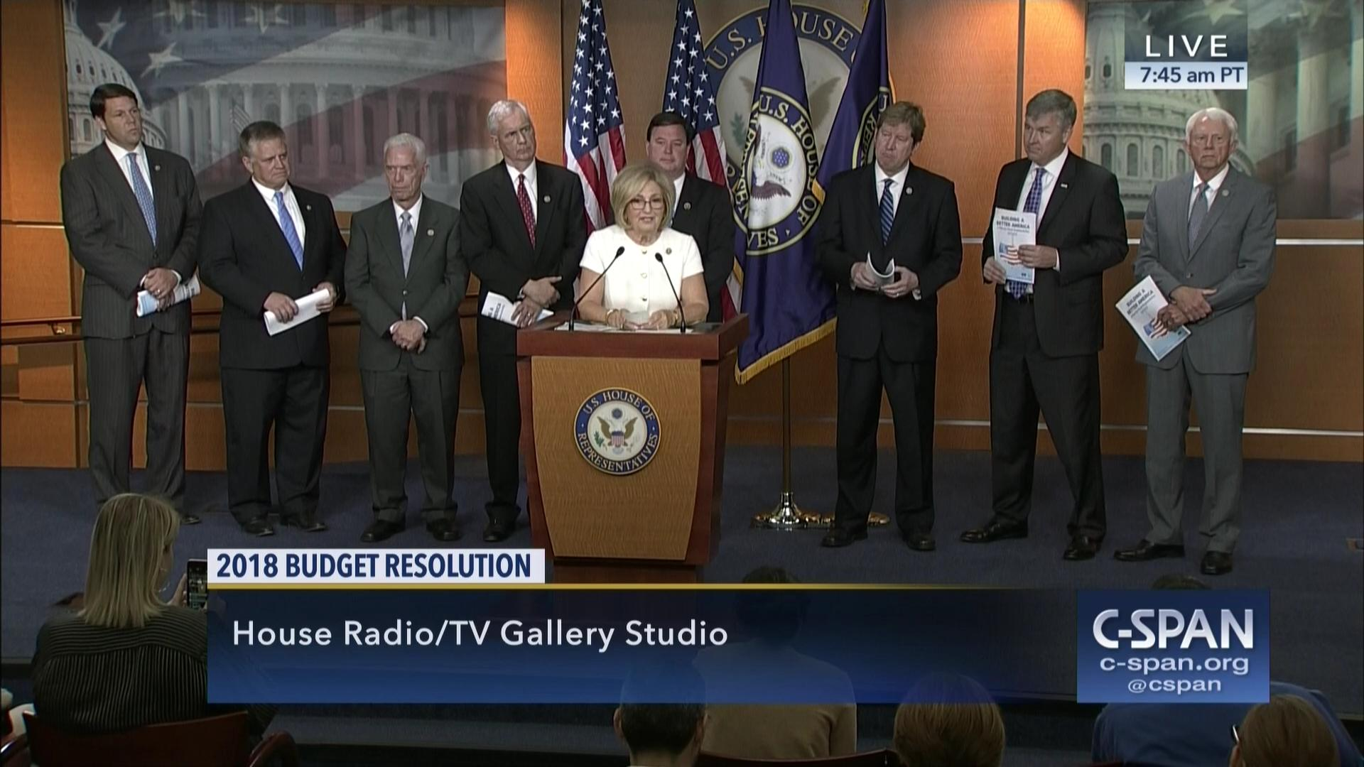 House Bud mittee Republicans Hold News Conference Jul