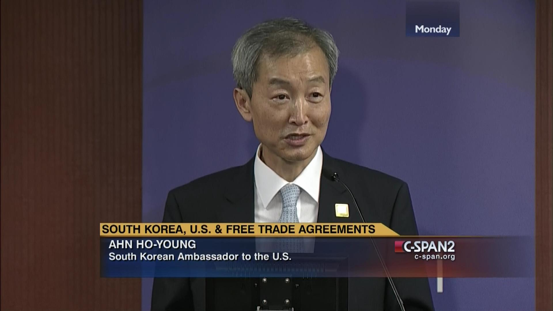 South Korea Free Trade Agreements Part 1 May 18 2015 Video C