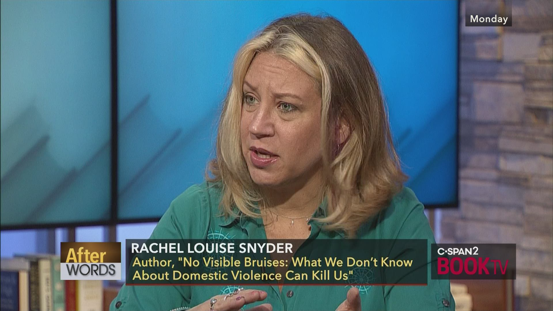 Domestic Violence Scars Kids Dna >> After Words With Rachel Louise Snyder C Span Org