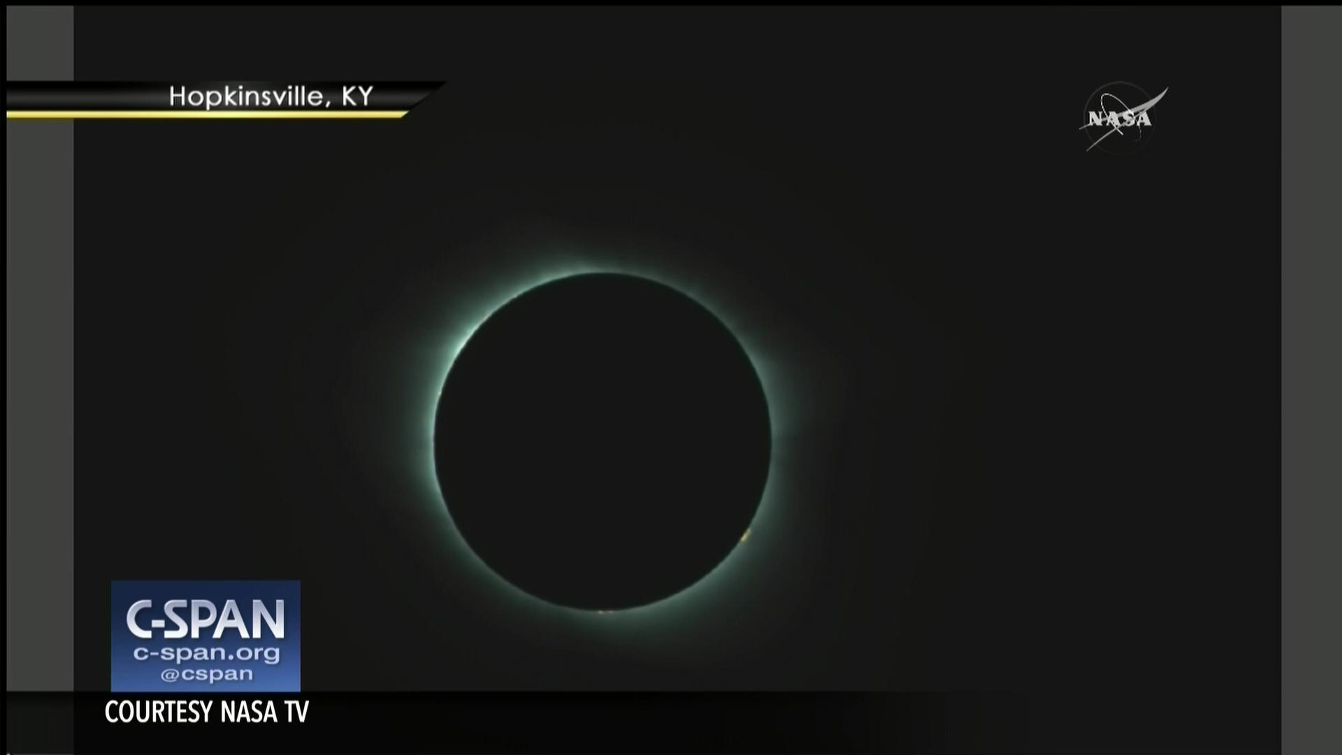 NASA TV Coverage Total Solar Eclipse Aug Video CSPANorg - 17 incredible photos of the 2017 solar eclipse