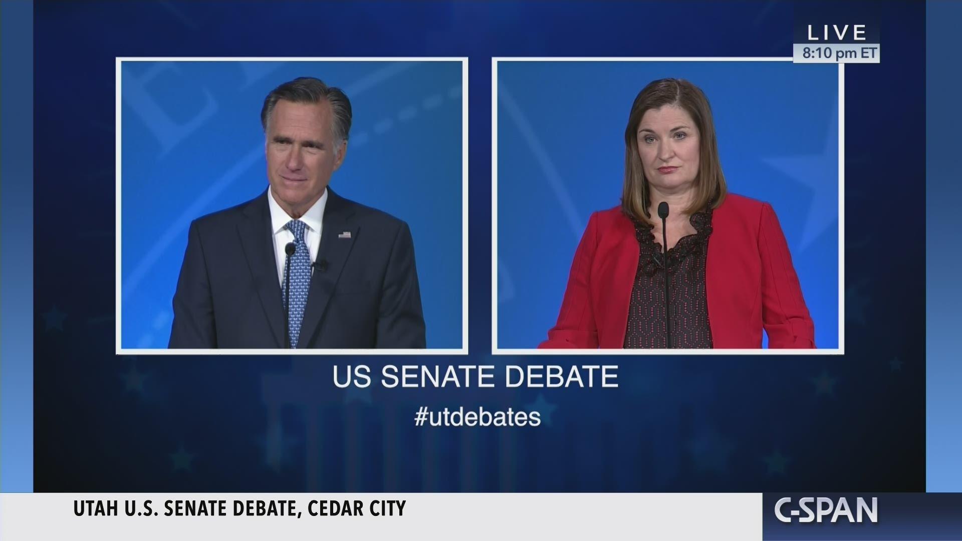 Senators Want Answers On Idea Website >> Utah Senate Debate C Span Org