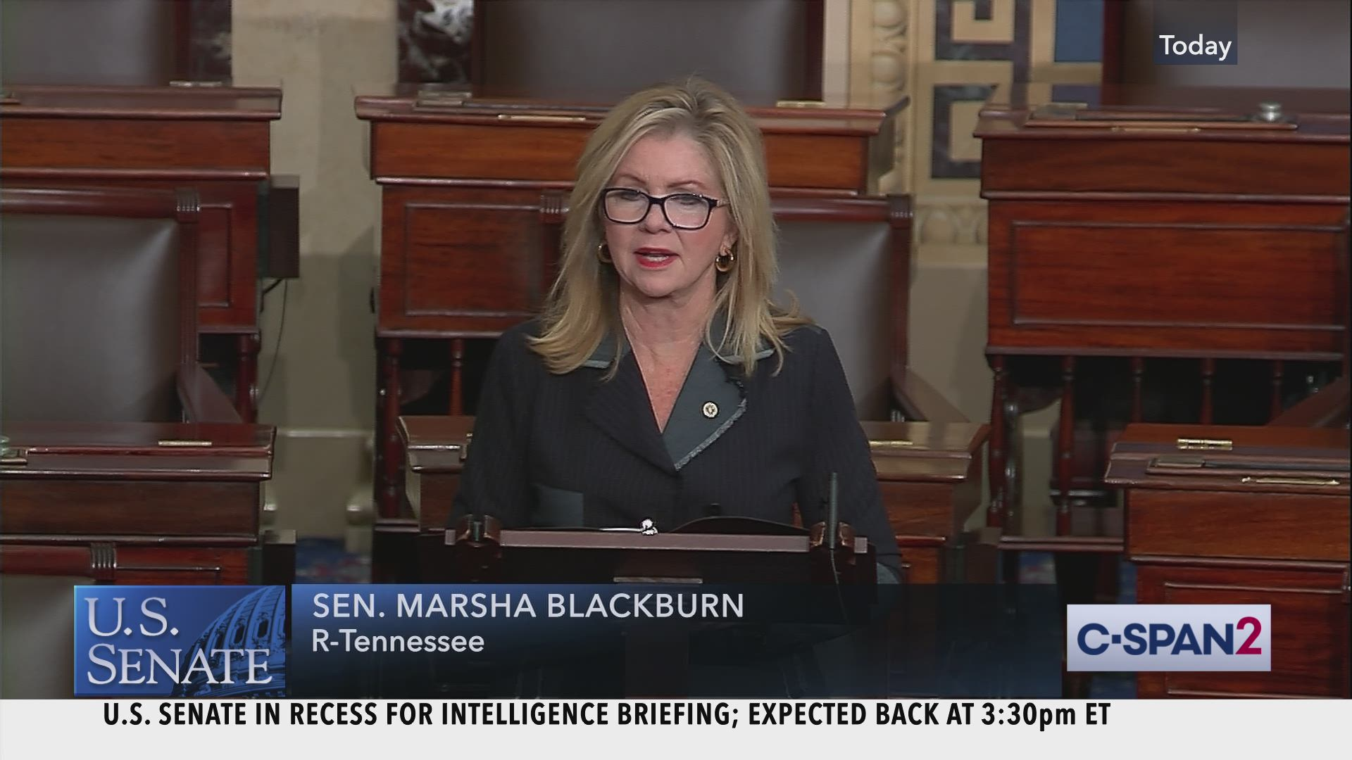 Senator Blackburn on House Impeachment Inquiry | C-SPAN.org