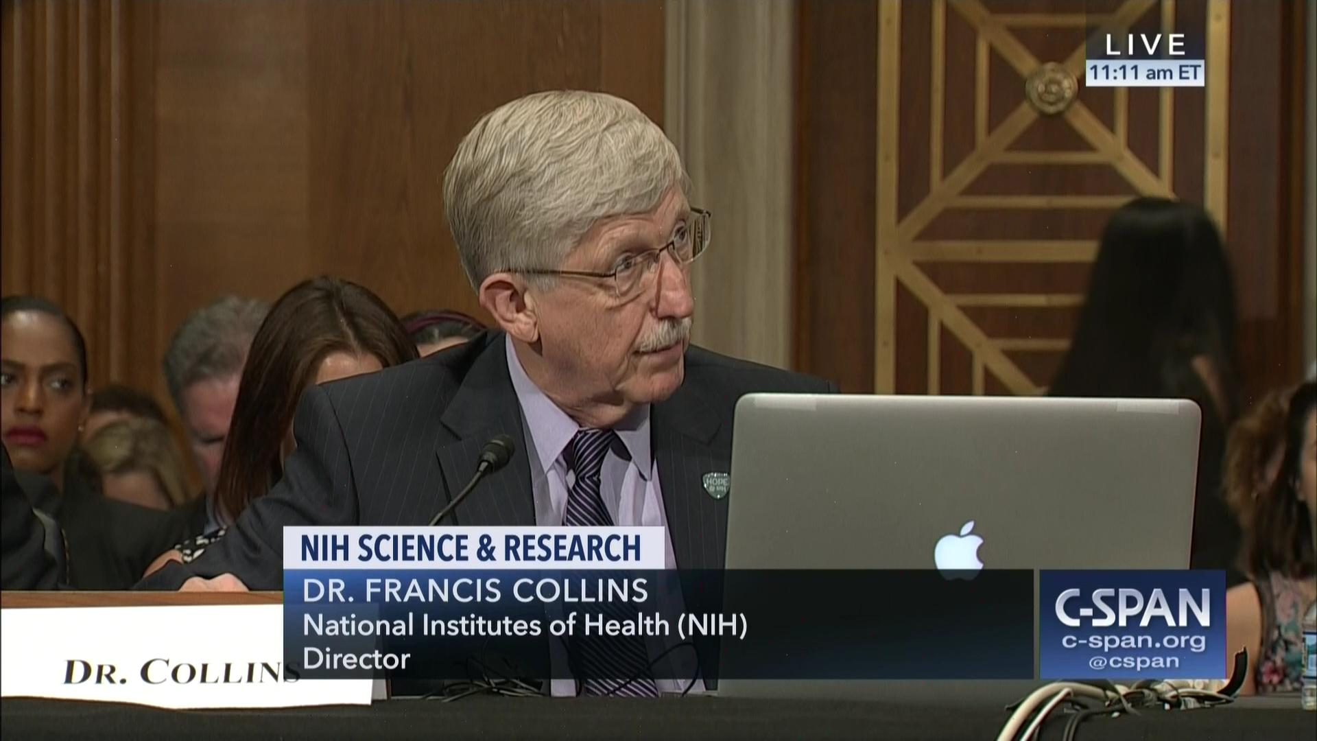 Senator Tina Smith asks NIH Director Francis Collins on affordability of  publicly-funded drugs