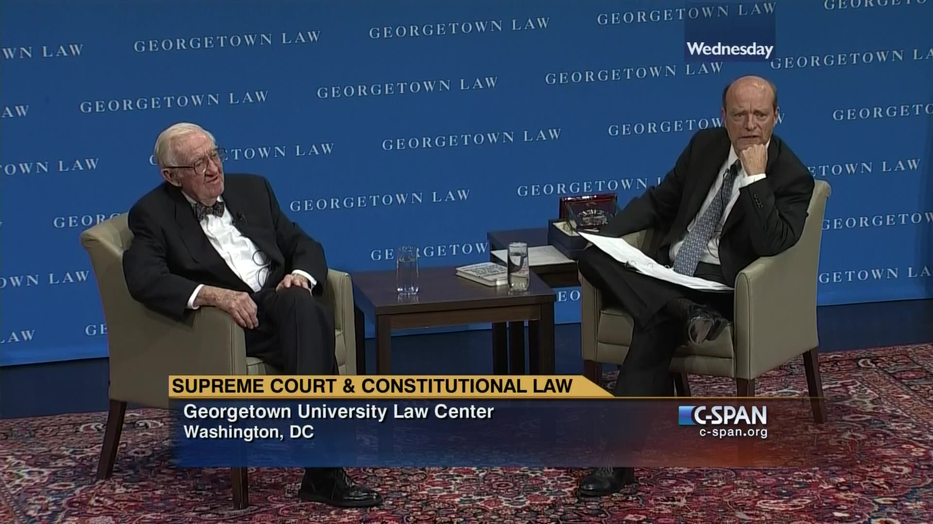 Georgetown law first assignments