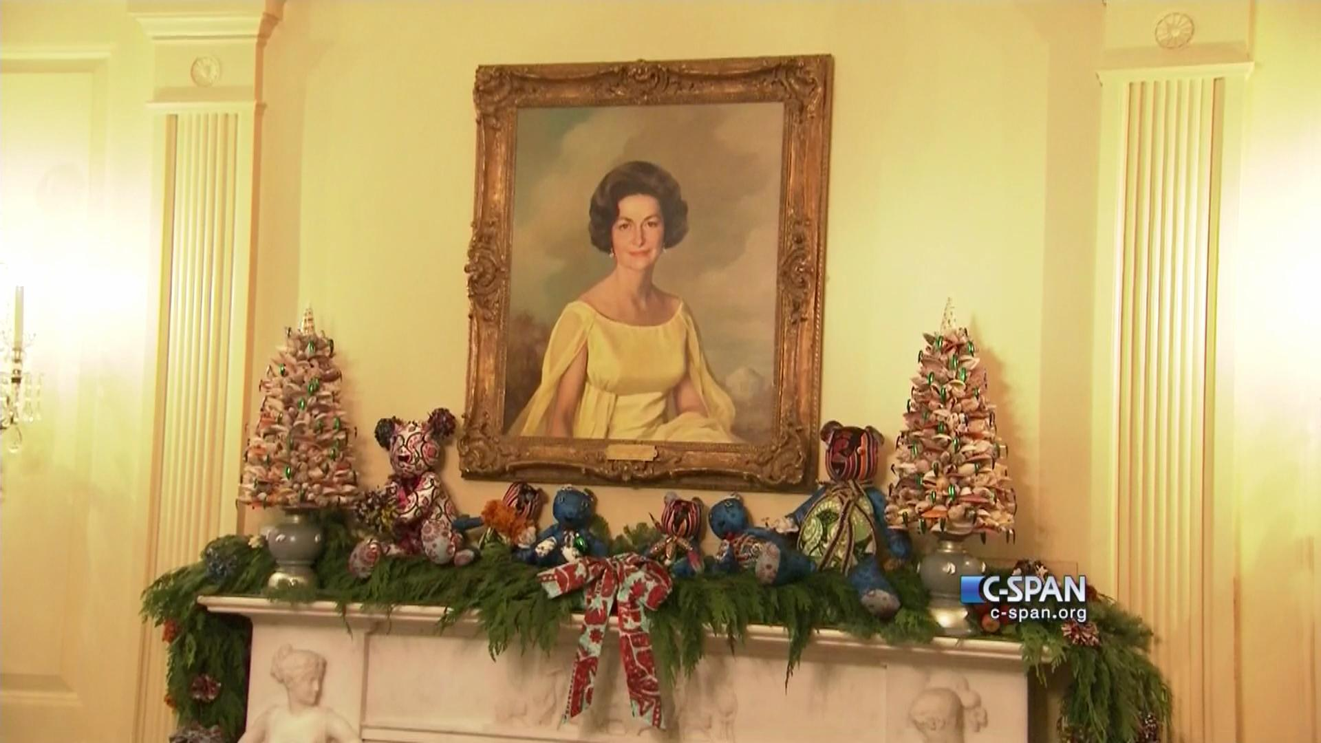 tour white house christmas decorations dec 2 2015 video c spanorg - White House Christmas Decorations 2016