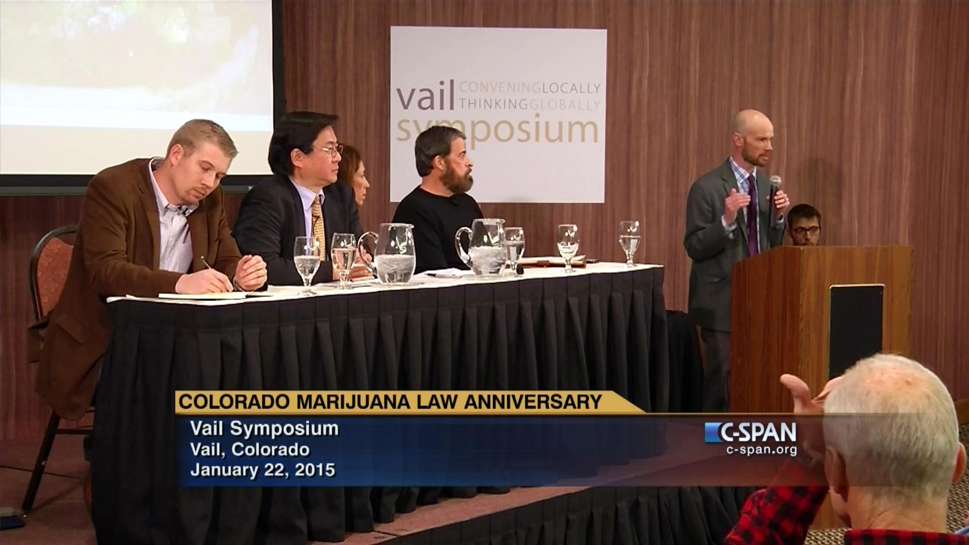 Discussion Anniversary Colorado's Marijuana Law, Jan 22 2015   Video    C-SPAN.org