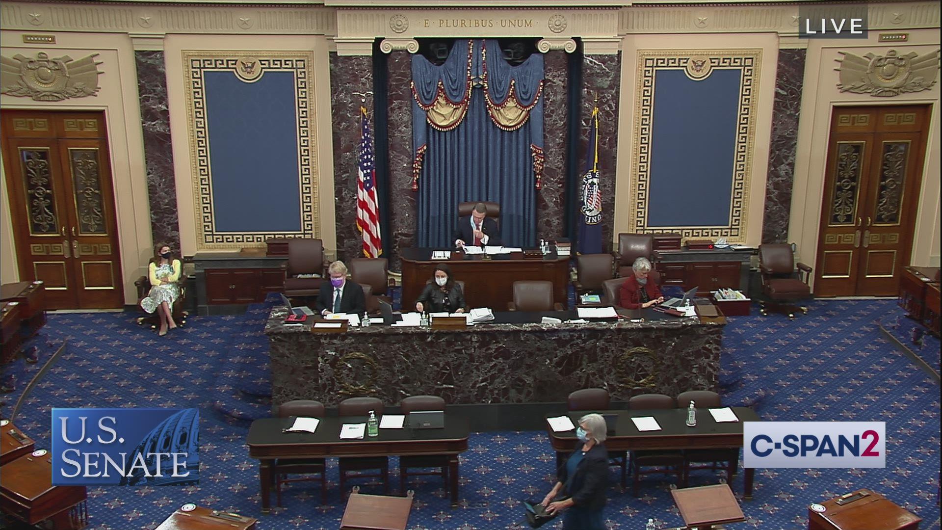 Senate Session, Part 2 | C-SPAN.org