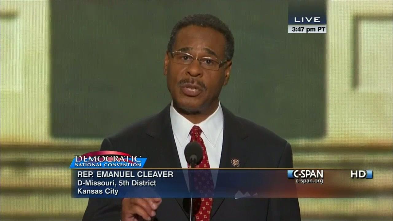 22433c7d87d Emanuel Cleaver II at the 2012 Democratic National Convention