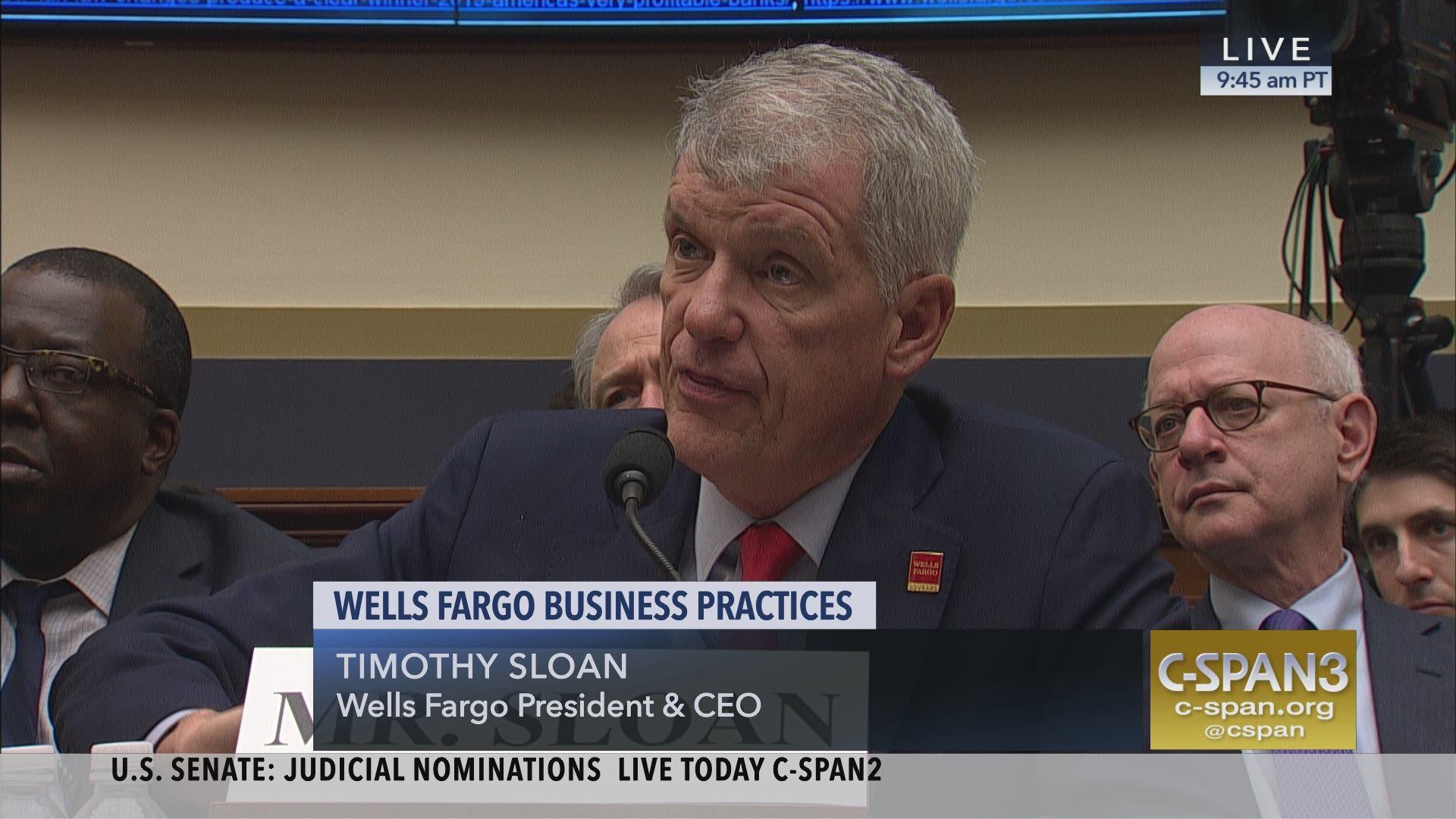 Rep Katie Porter Grills Wells Fargo CEO