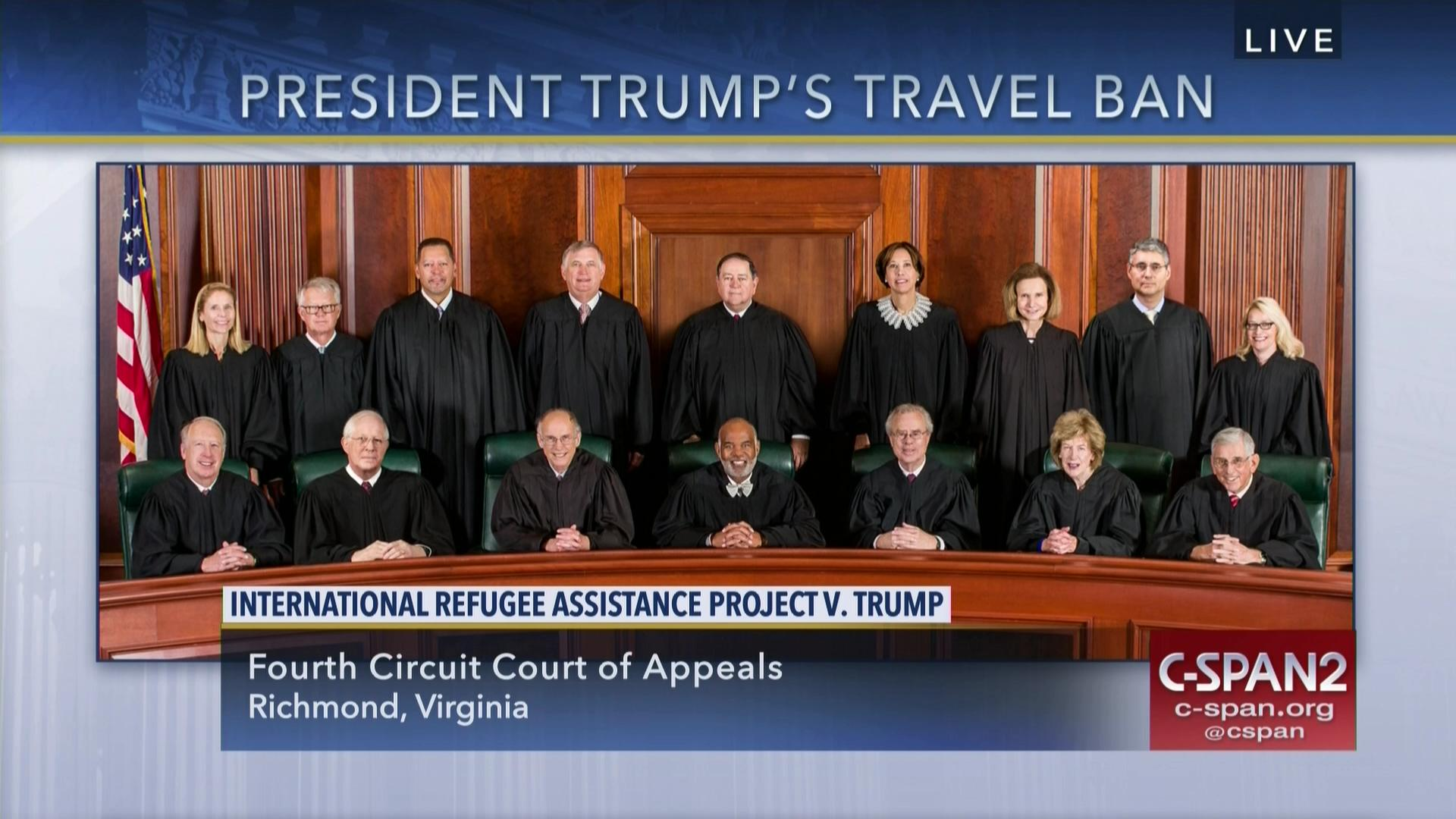 Fourth Circuit Hears Oral Argument Revised Travel Ban Audio Dec 8 2017 No The Court Of Appeals Virginia Is A State Appellate For