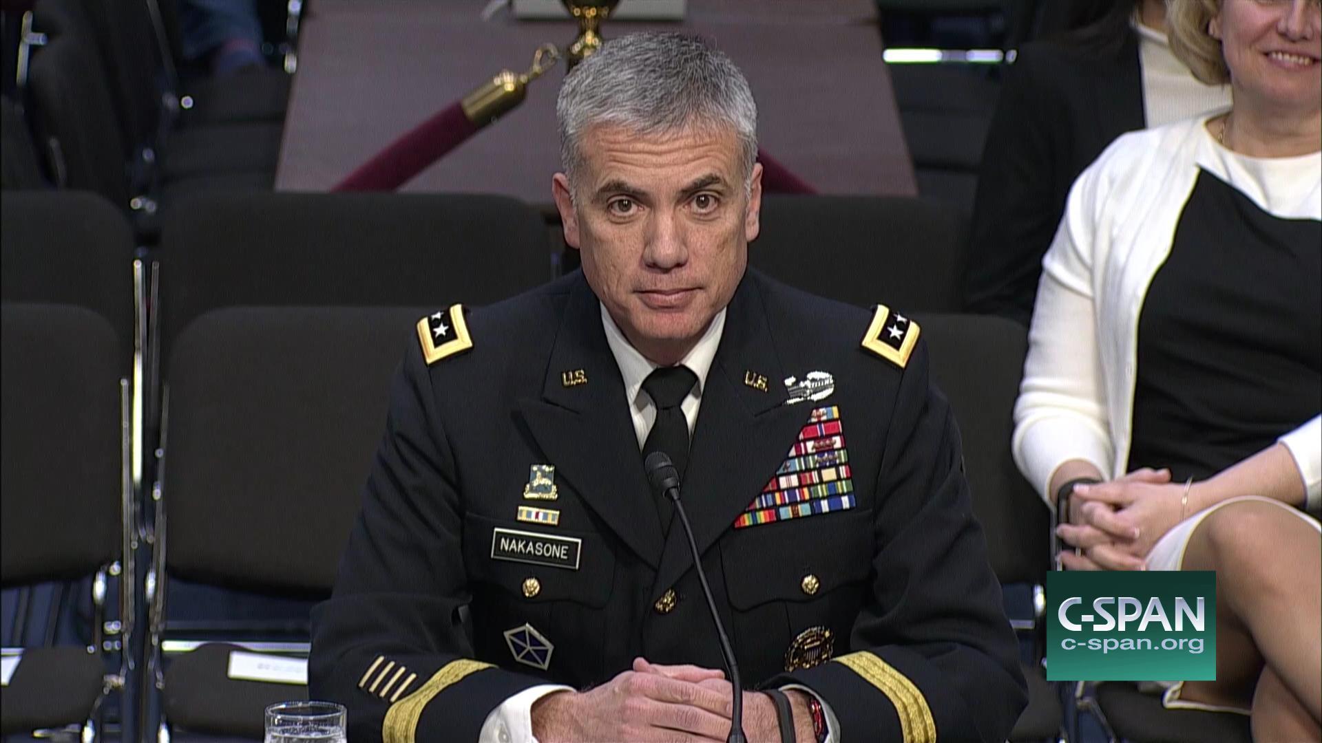 Nsa Nominee Lieutenant General Paul Nakasone Testifies Confirmation Caig Conductive Circuitwriter Pen Amazoncouk Electronics Hearing