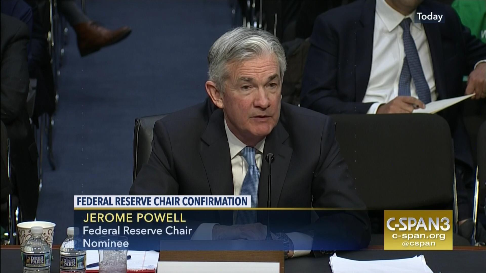 Feds Find Fewer States Meeting Special >> Federal Reserve Chair Confirmation Hearing C Span Org