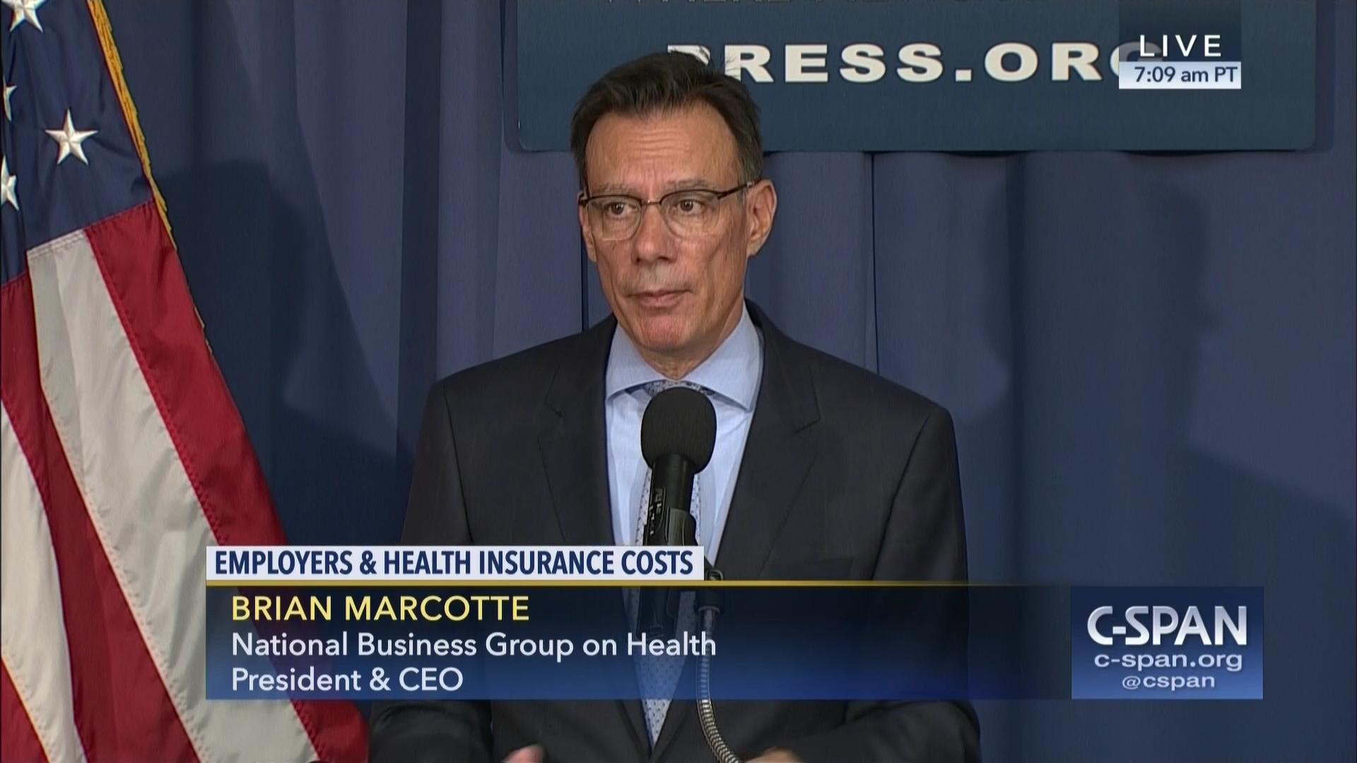 National Business Group On Health >> Employers And Health Insurance Costs