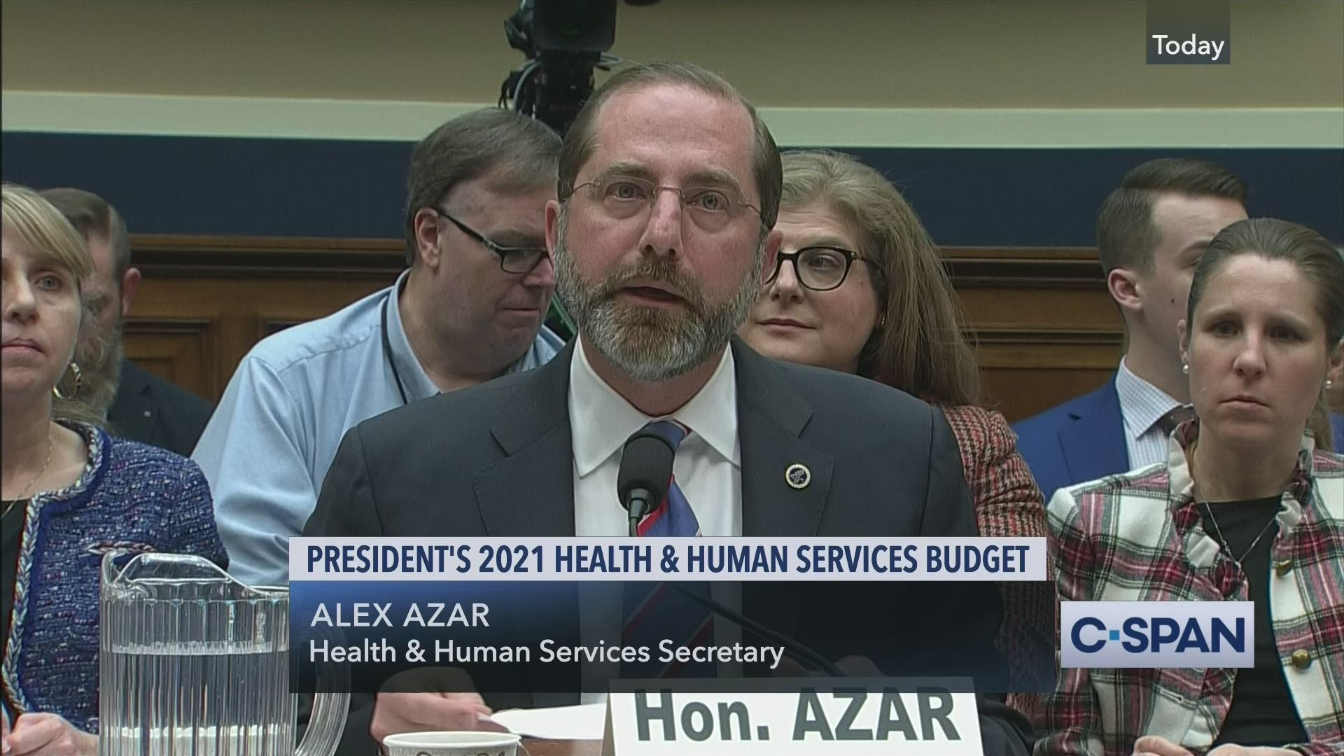Health And Human Service Fiscal Year 2021 Budget Request C Span Org