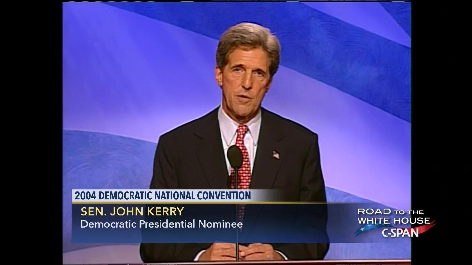 Senator John Kerry 2004 Presidential Acceptance Speech