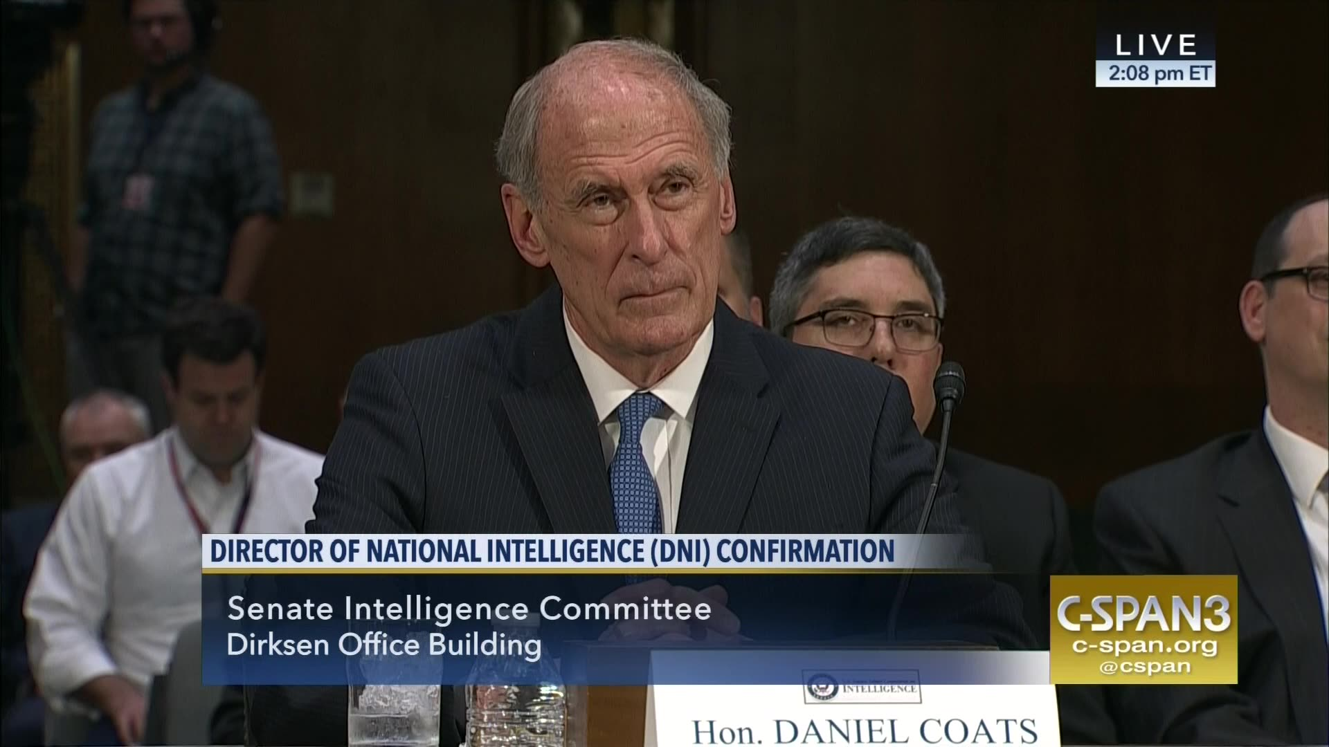 Image result for PHOTO OF DAN COATS