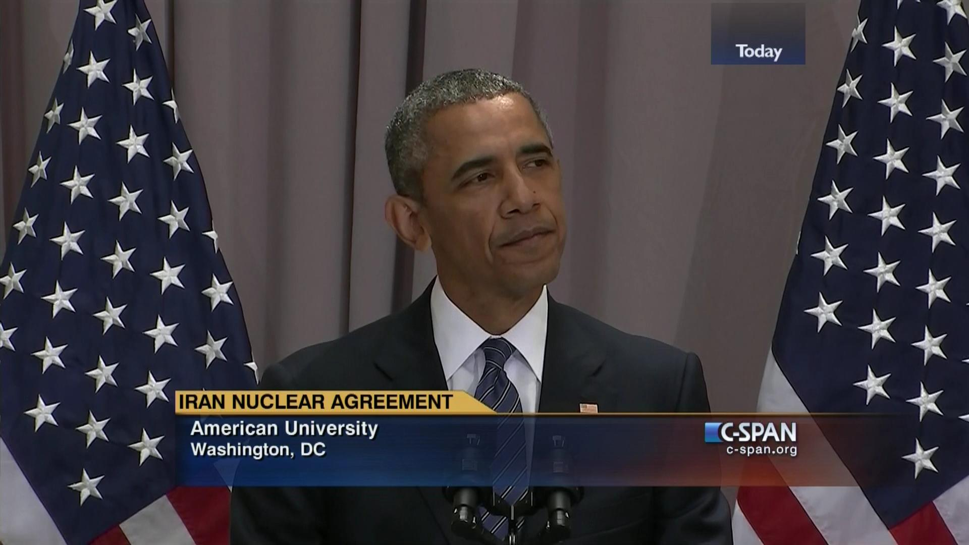 President Obama Remarks Iran Nuclear Agreement Aug 5 2015 Video