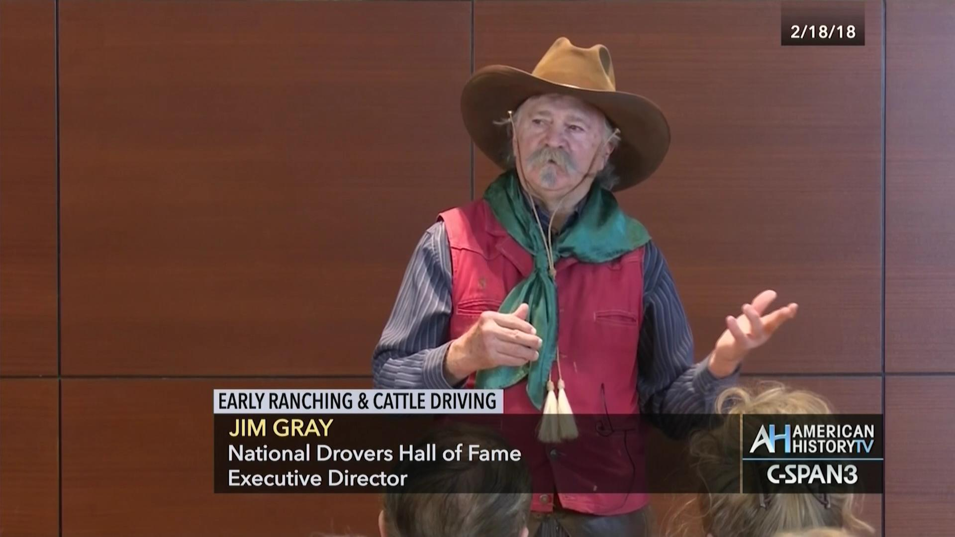 763bbb29 Early Ranching and Cattle Driving | C-SPAN.org
