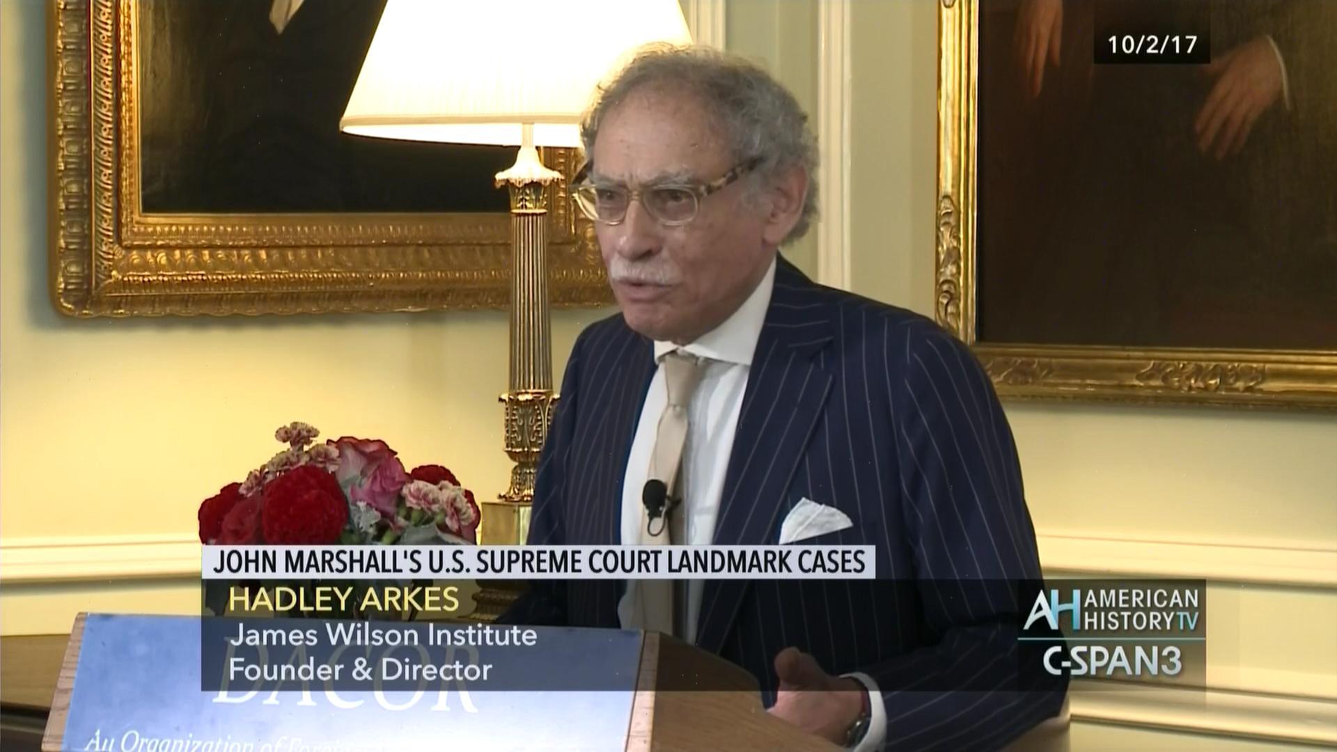 john marshall court cases