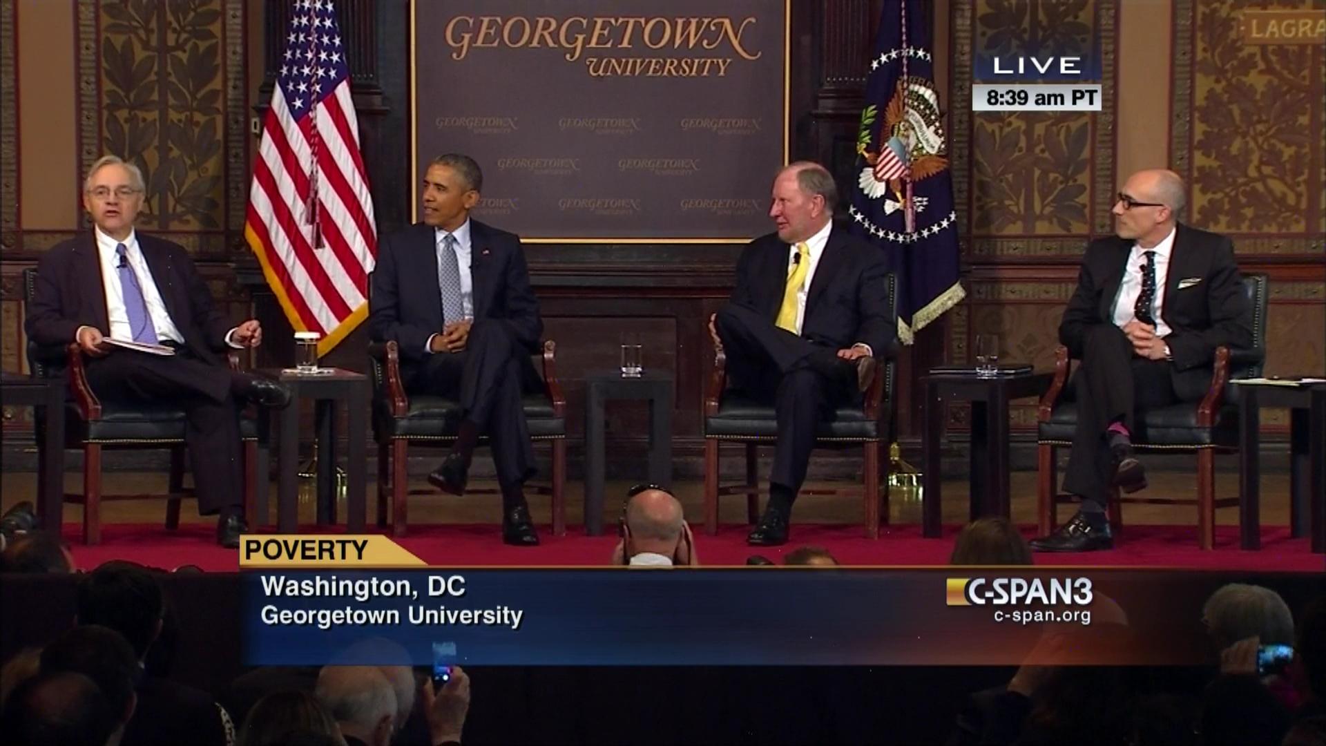 Robert Putnam When Did Poor Kids Stop >> President Obama Remarks On Poverty