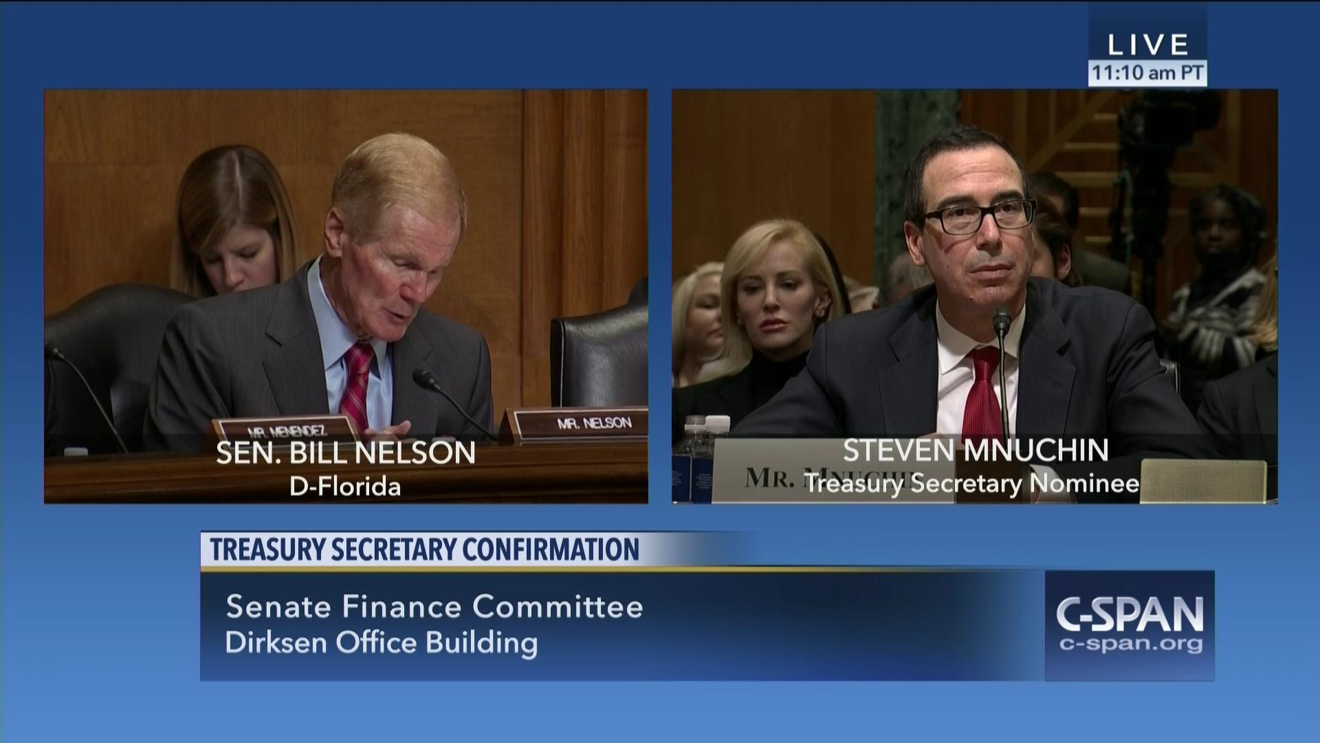 Senator Debbie Stabenow Grills Steve Mnuchin Social Security # Mebe De Television