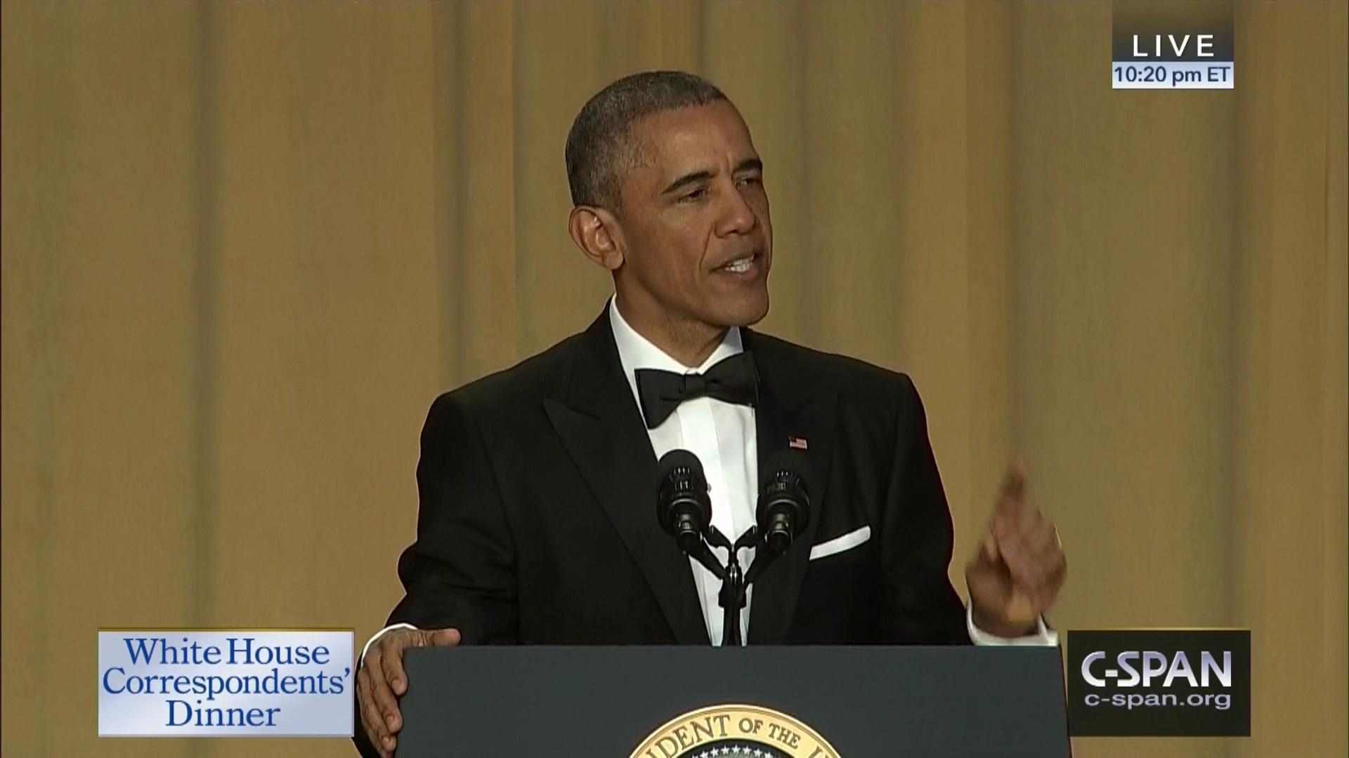 Obama drops a Burning Man joke