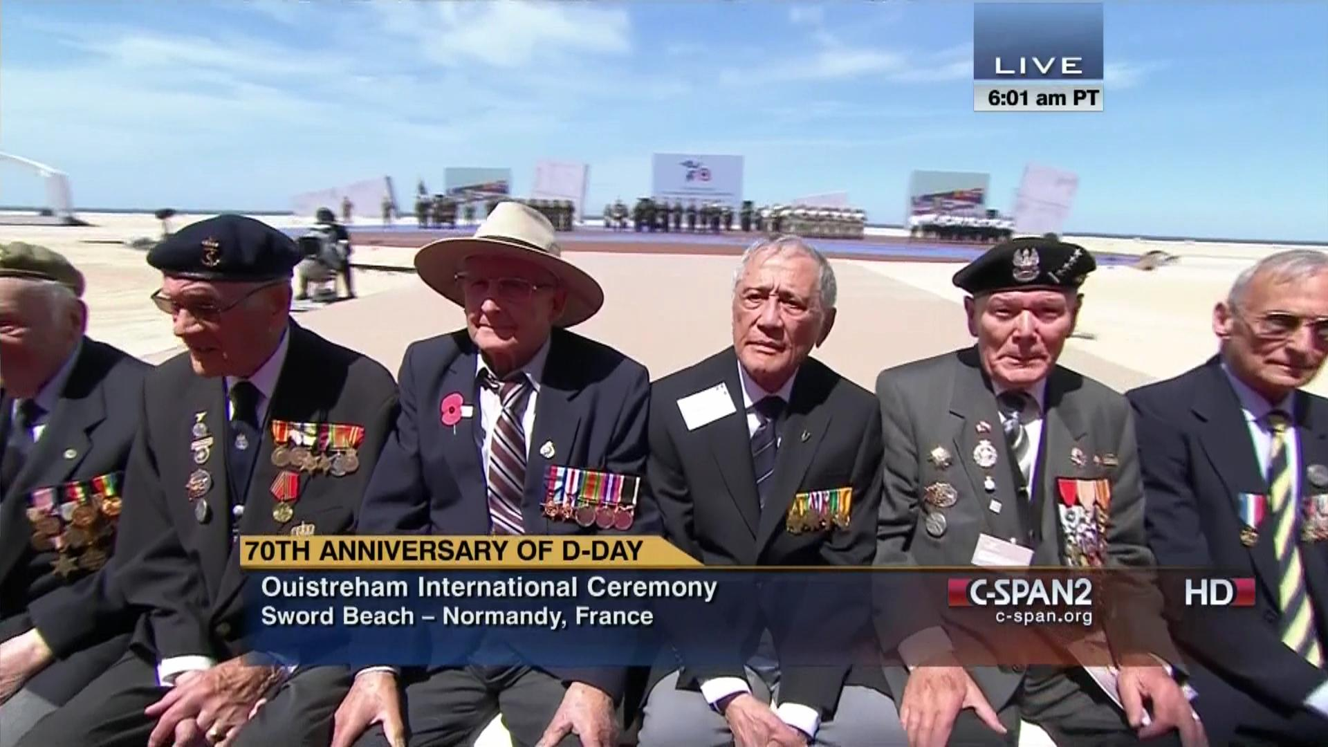 D Day 70th Anniversary Ouistreham International Ceremony