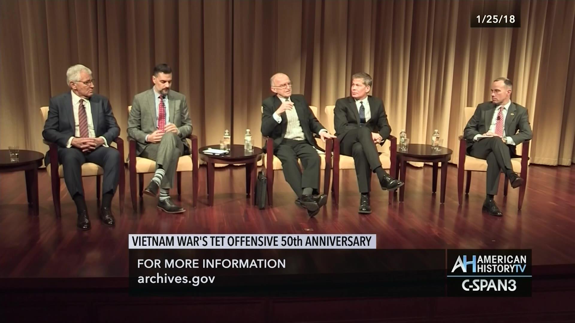 Vietnam War's Tet Offensive 50th Anniversary