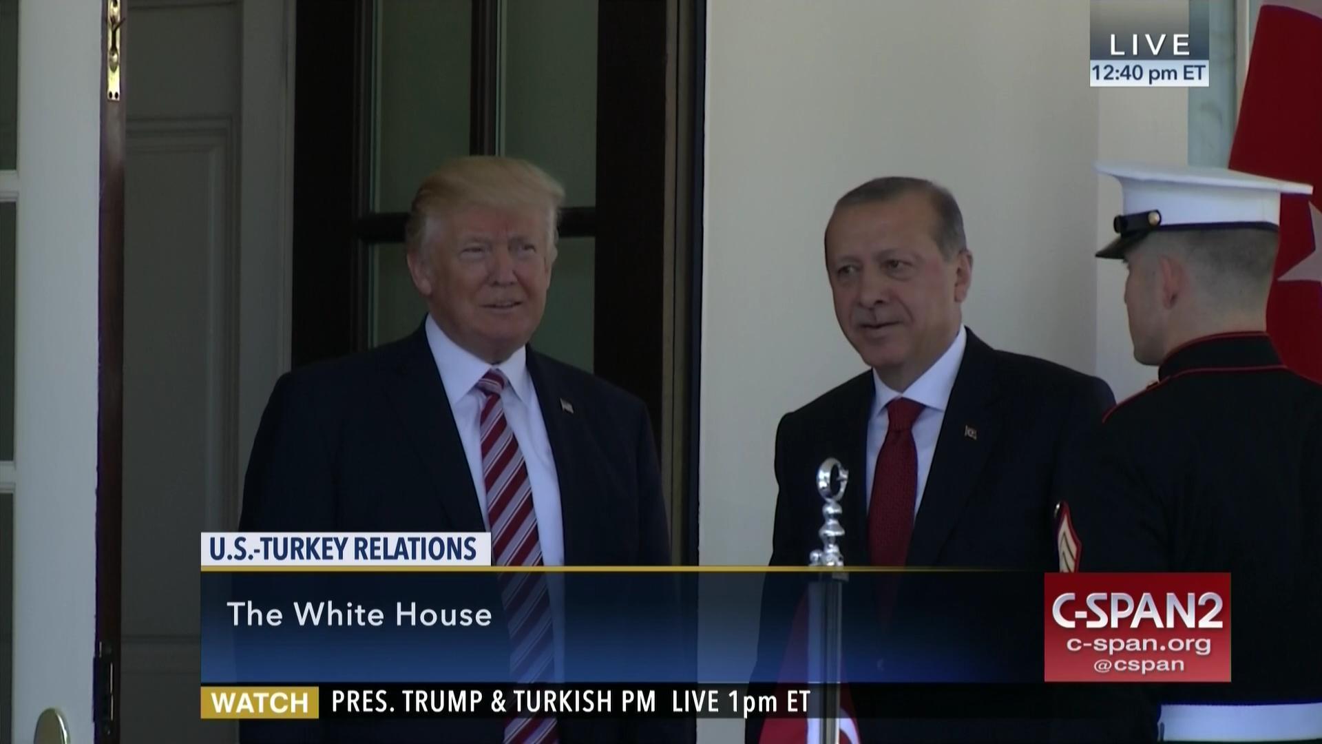 Turkish President Erdogan Arrival at the White House | C-SPAN.org