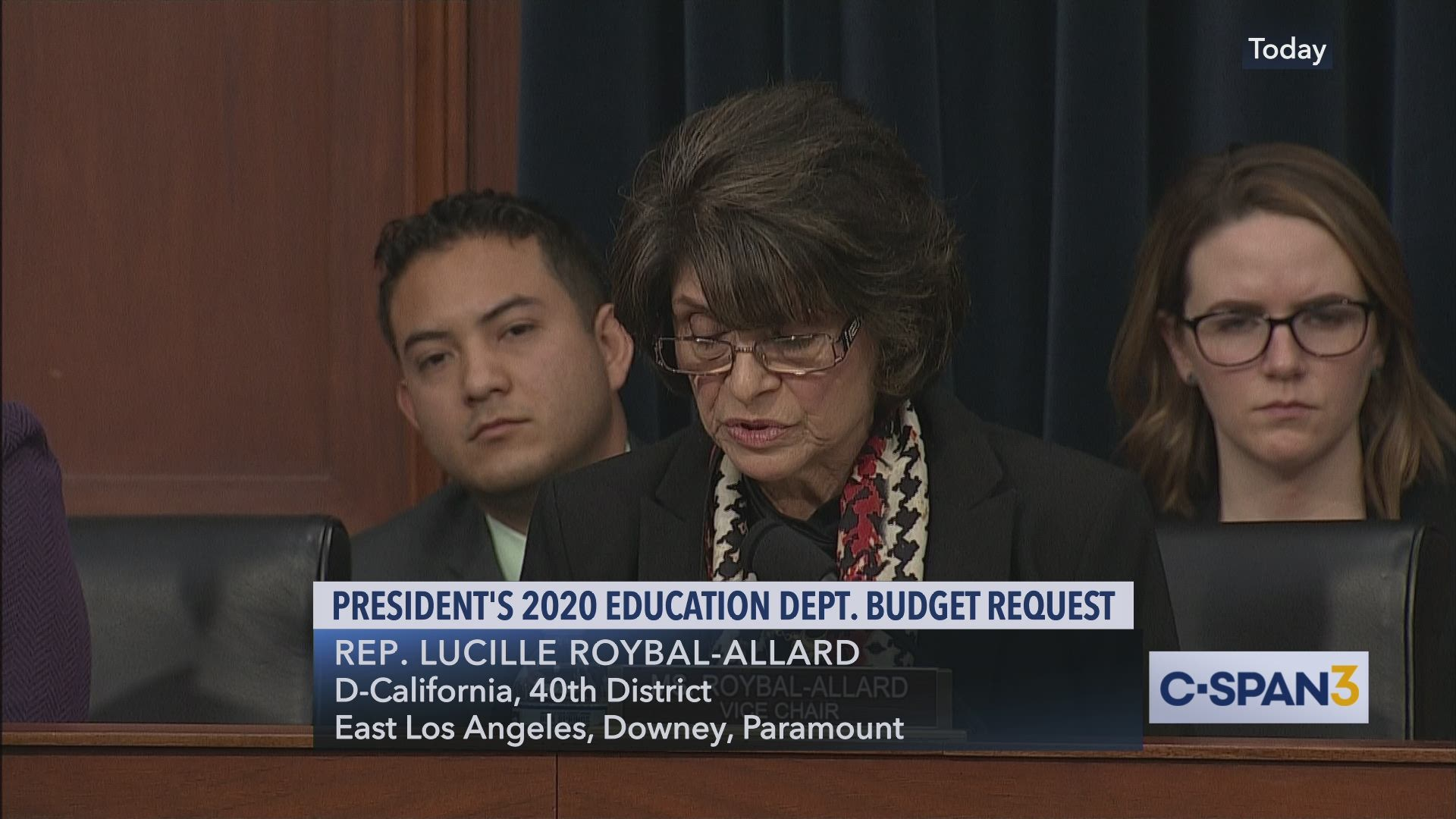 Devos Says Real Problem In Education Is >> Betsy Devos Explains Benefits Of Larger Class Sizes C Span Org