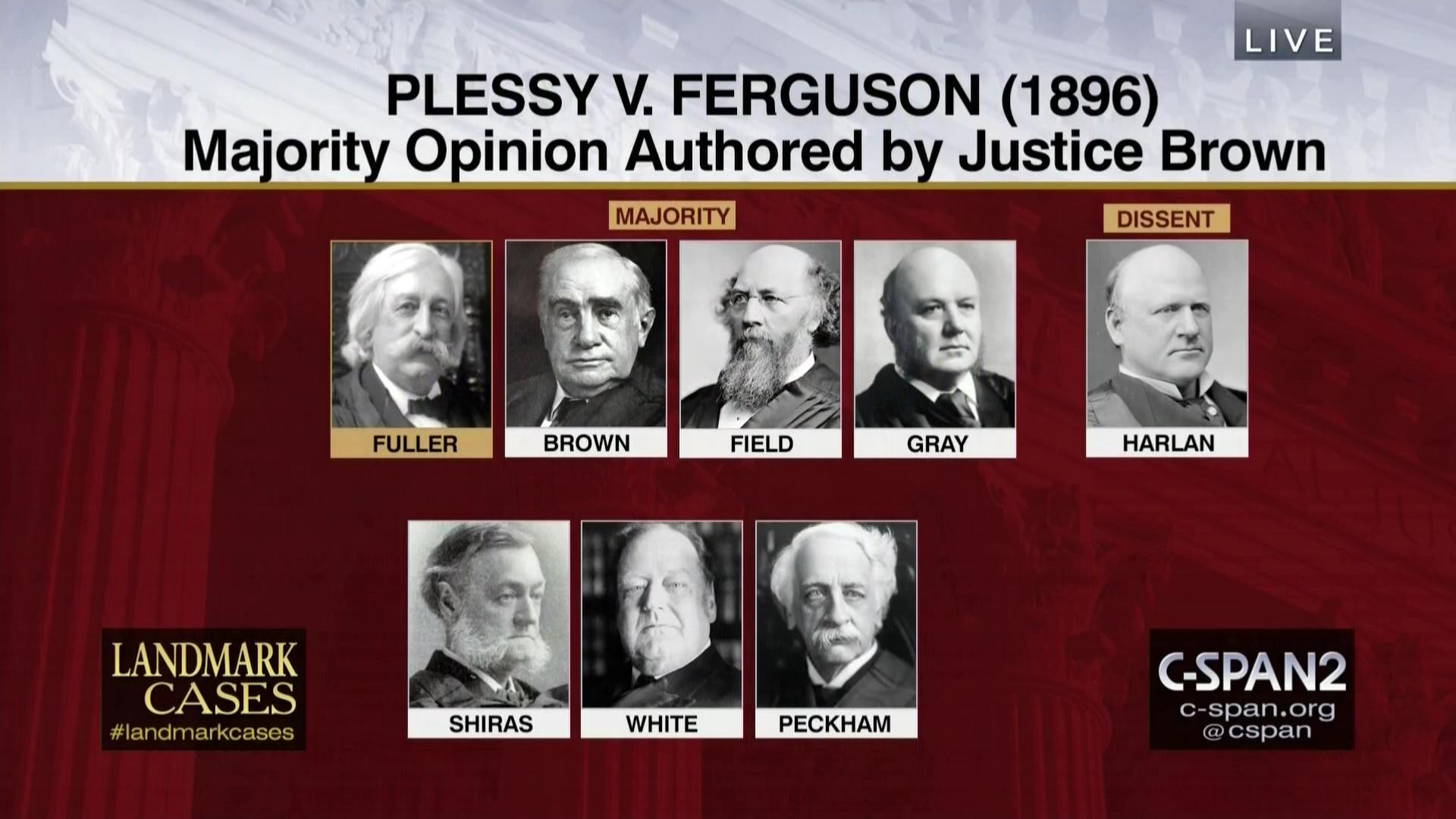 plessy vs ferguson impact