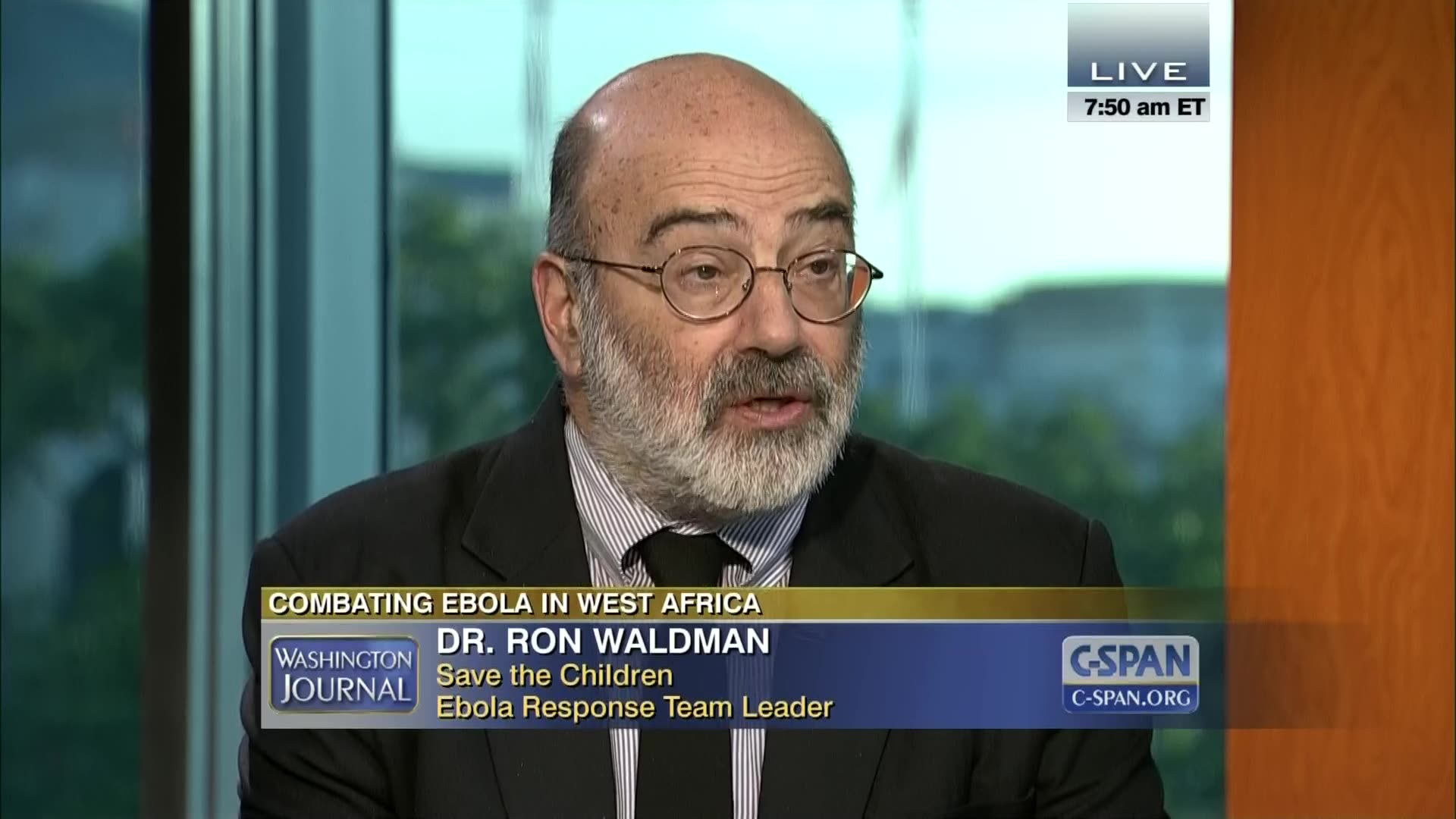 Role of Non-Government Organizations in Fighting Ebola | C-SPAN.org