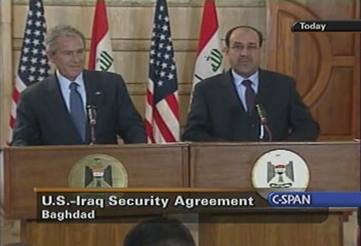Iraq Security Agreement Dec 14 2008 Video C Span Org