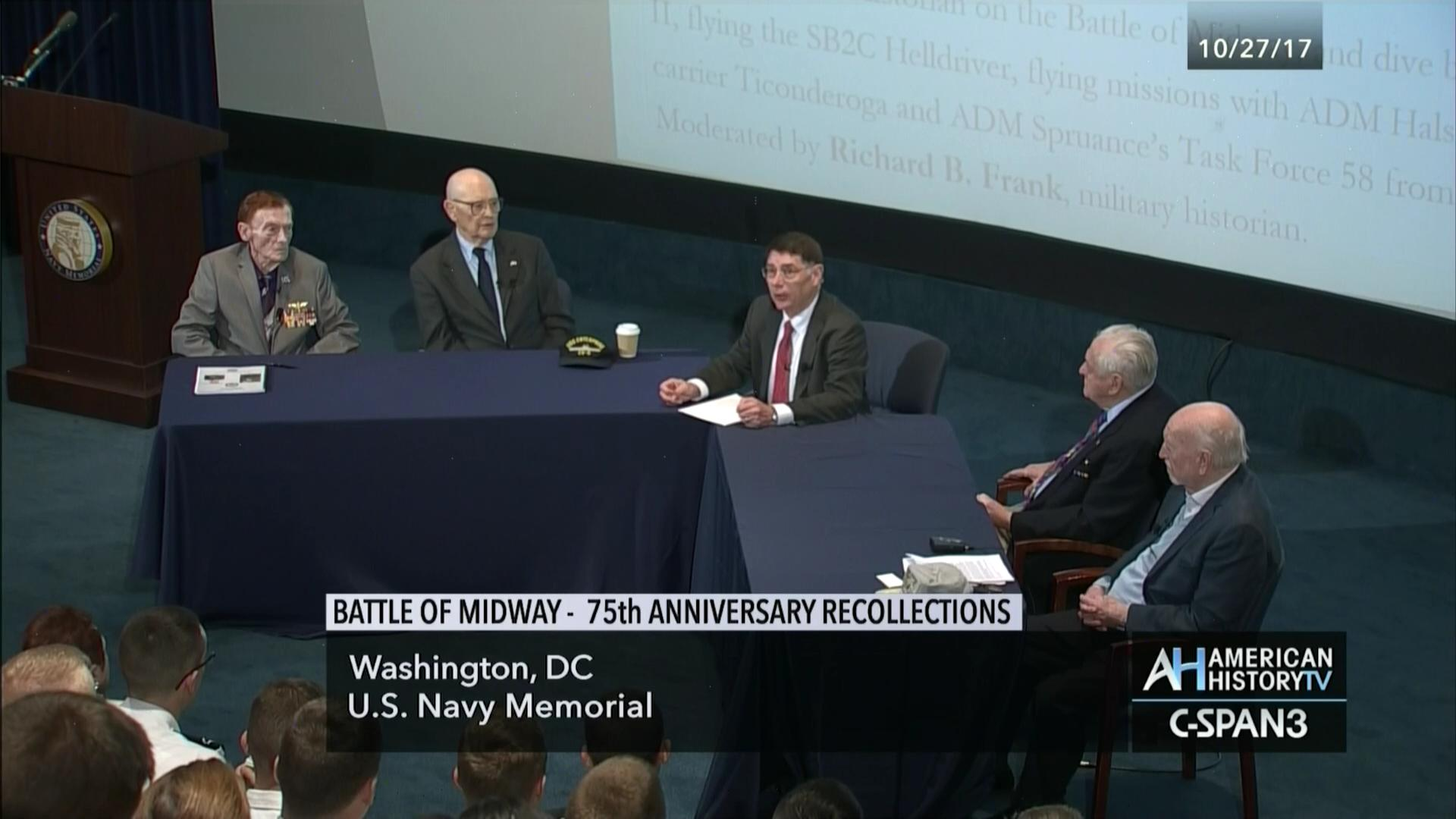 b13b41cbfe9ac Battle of Midway 75th Anniversary Recollections   C-SPAN.org