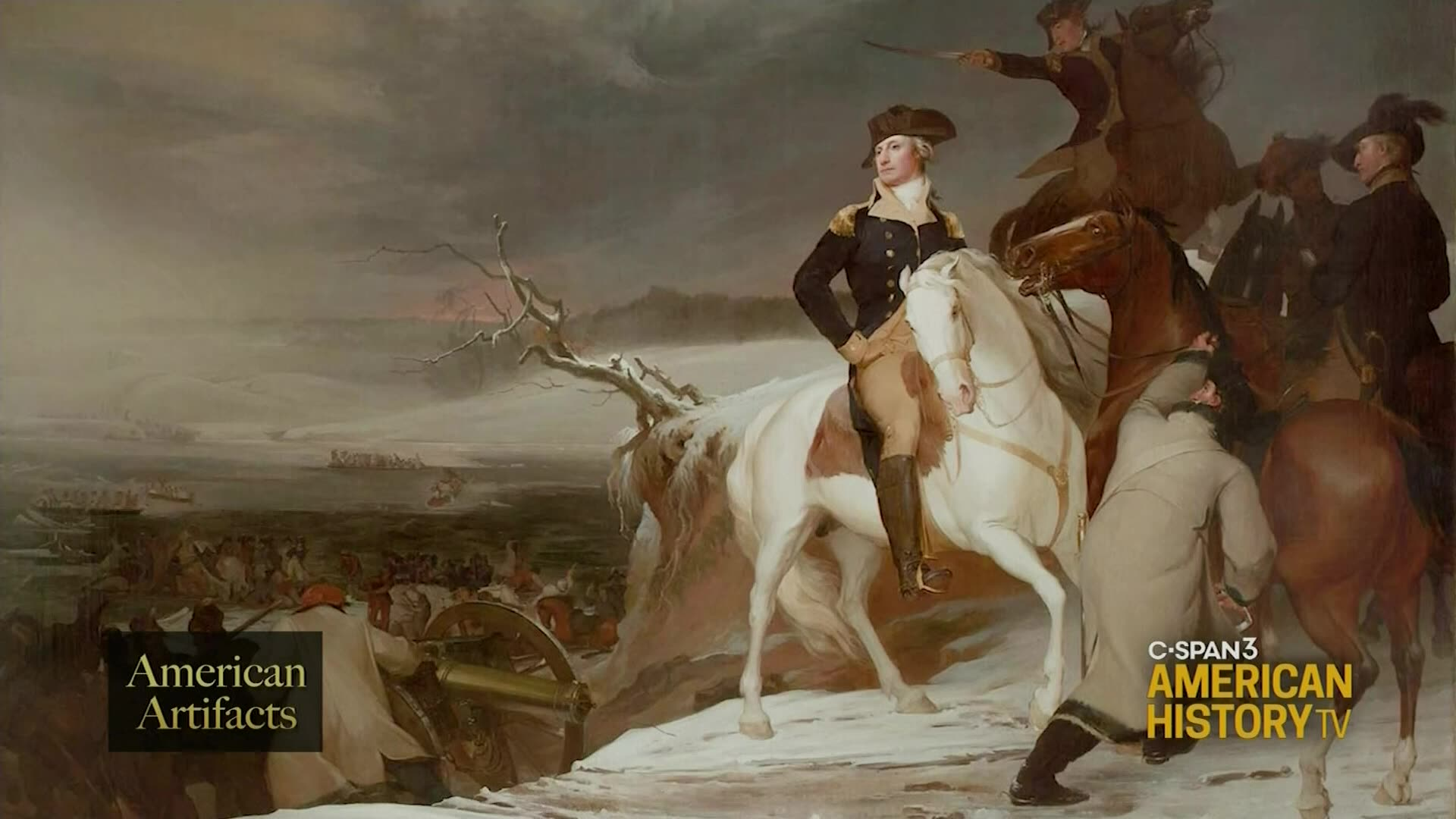 George Washington Explains Crossing The Delaware River C Span Org
