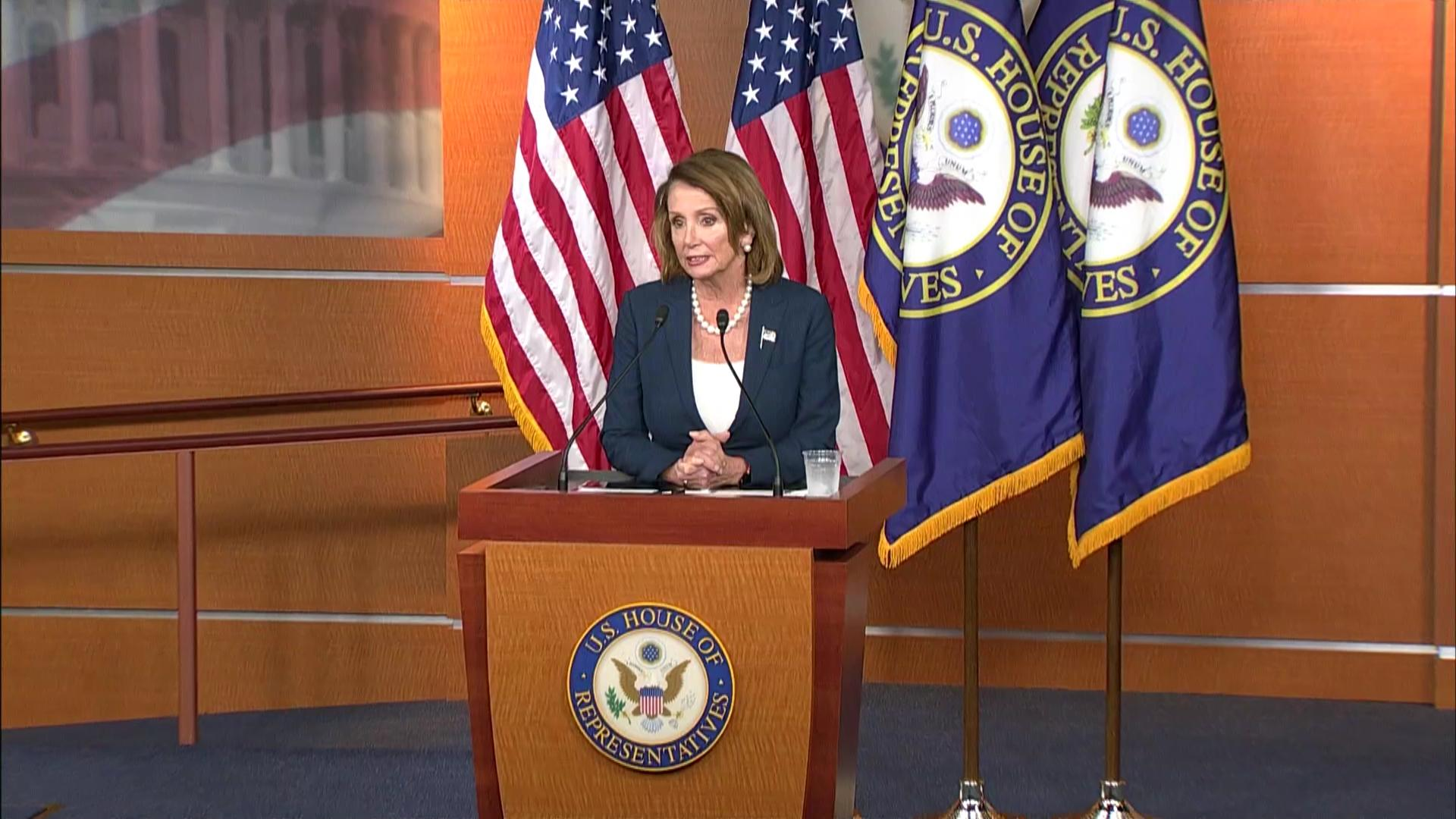 leader pelosi calls president's defense bill o'reilly sickening