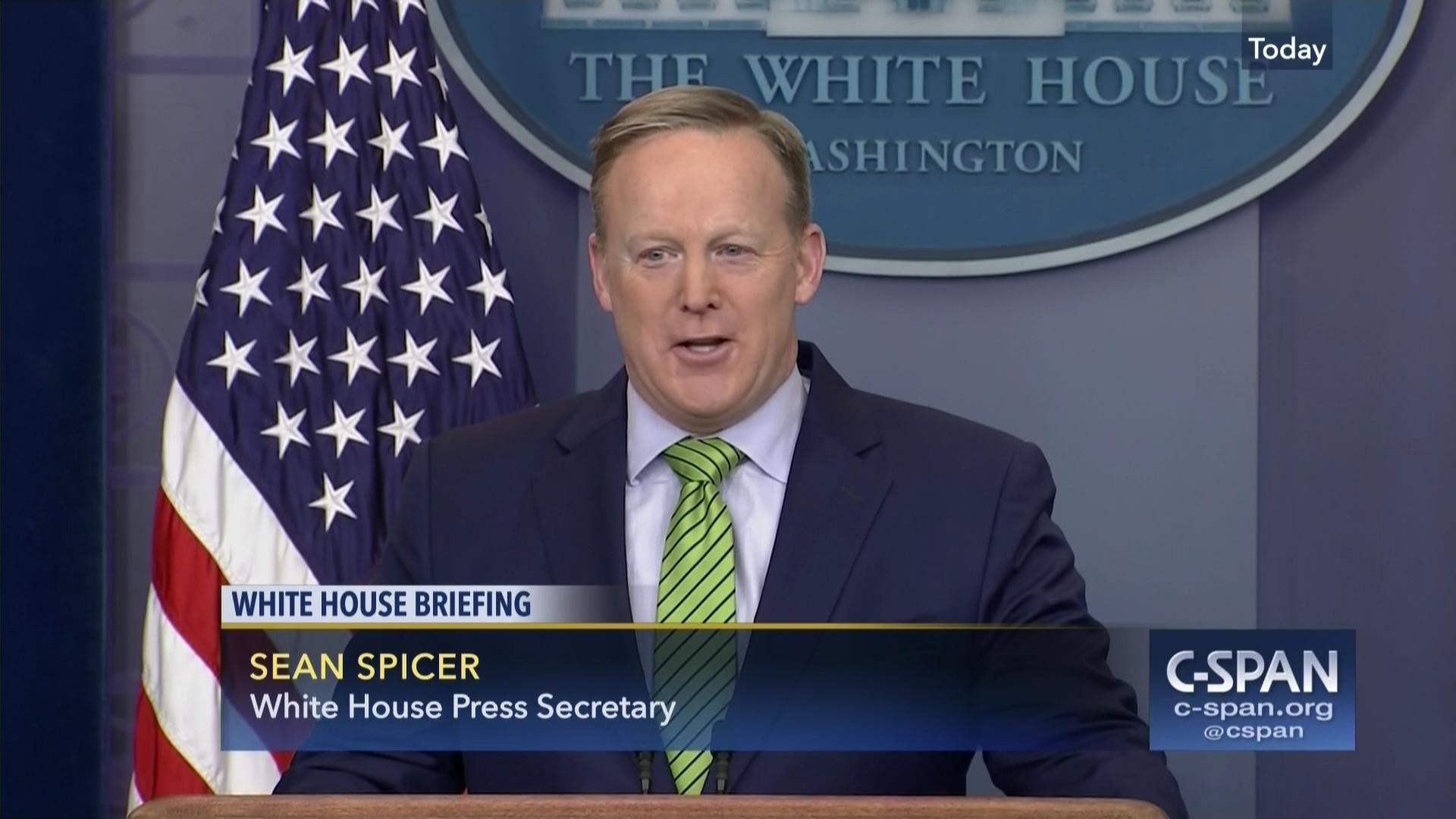 sean spicer says us easing sanctions russia, feb 2 2017 | c-span