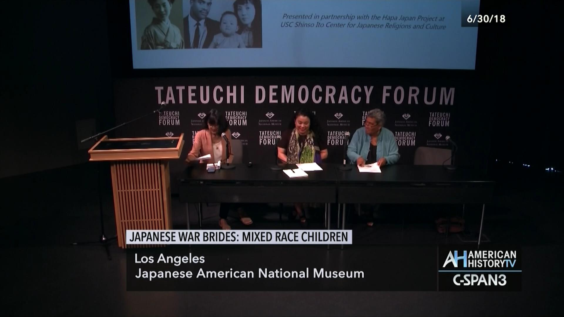 Japanese War Brides, Mixed Race Children