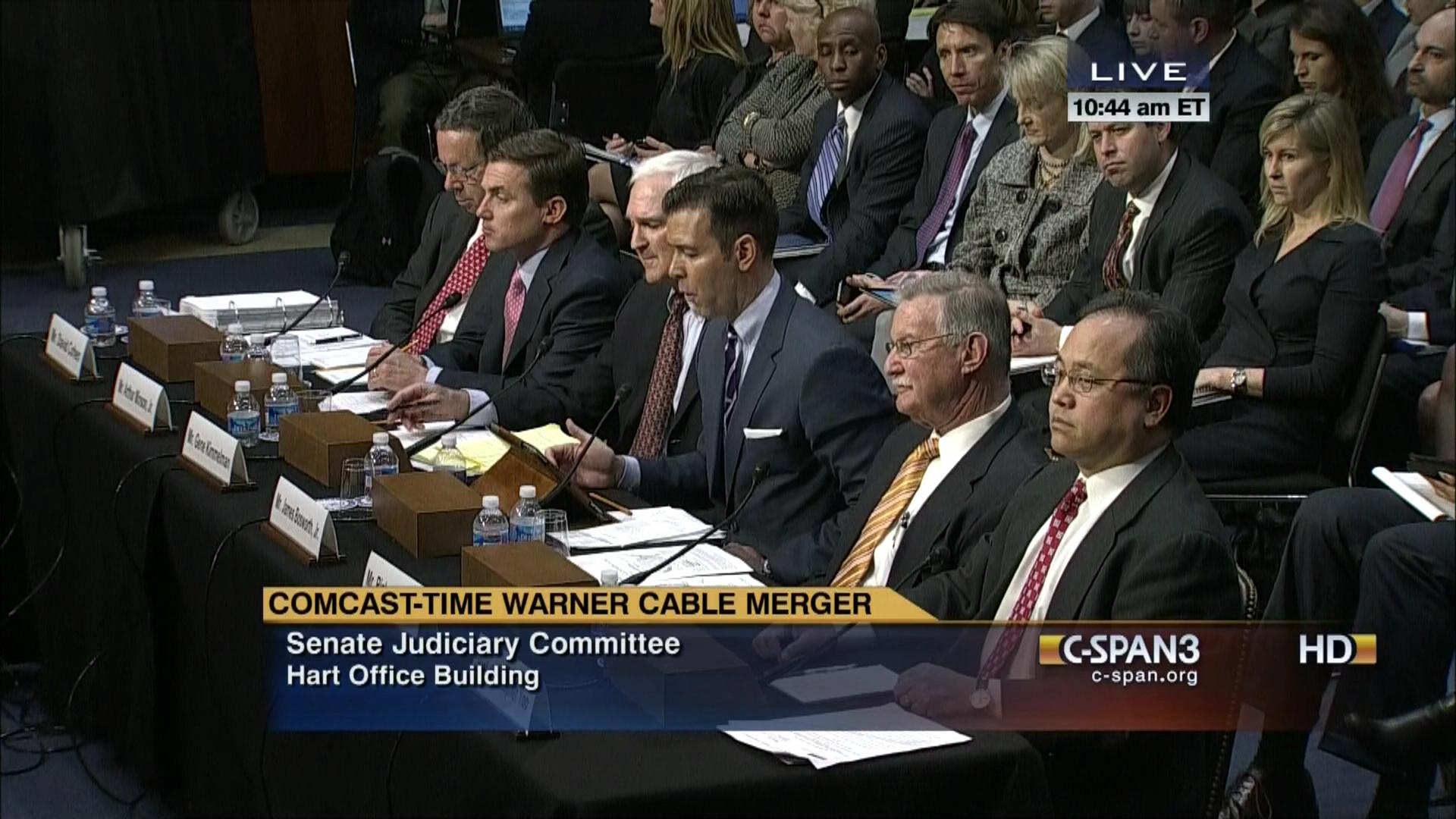 Comcast Time Warner Cable Merger, Apr 9 2014 | Video | C-SPAN.org
